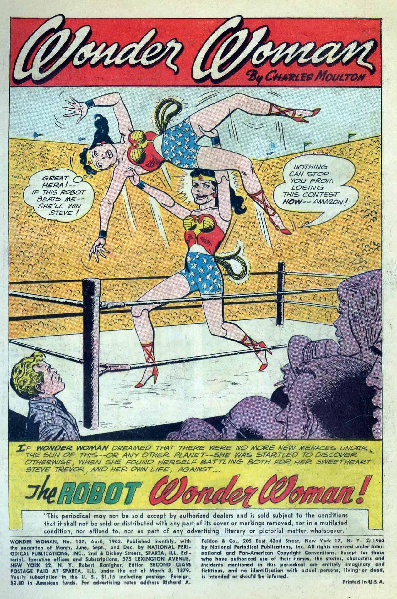 Read online Wonder Woman (1942) comic -  Issue #137 - 3