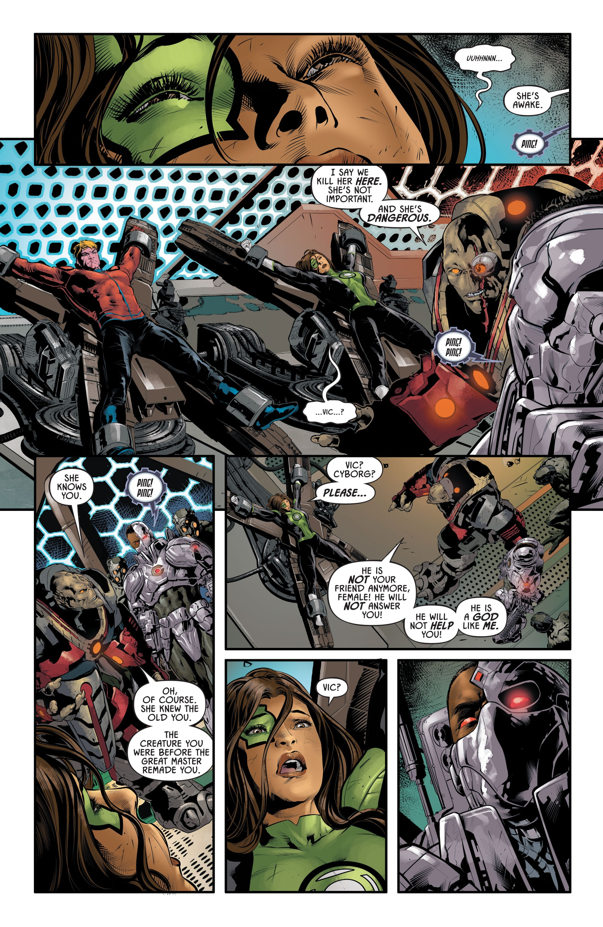 Justice League Odyssey #17 #17 - English 12