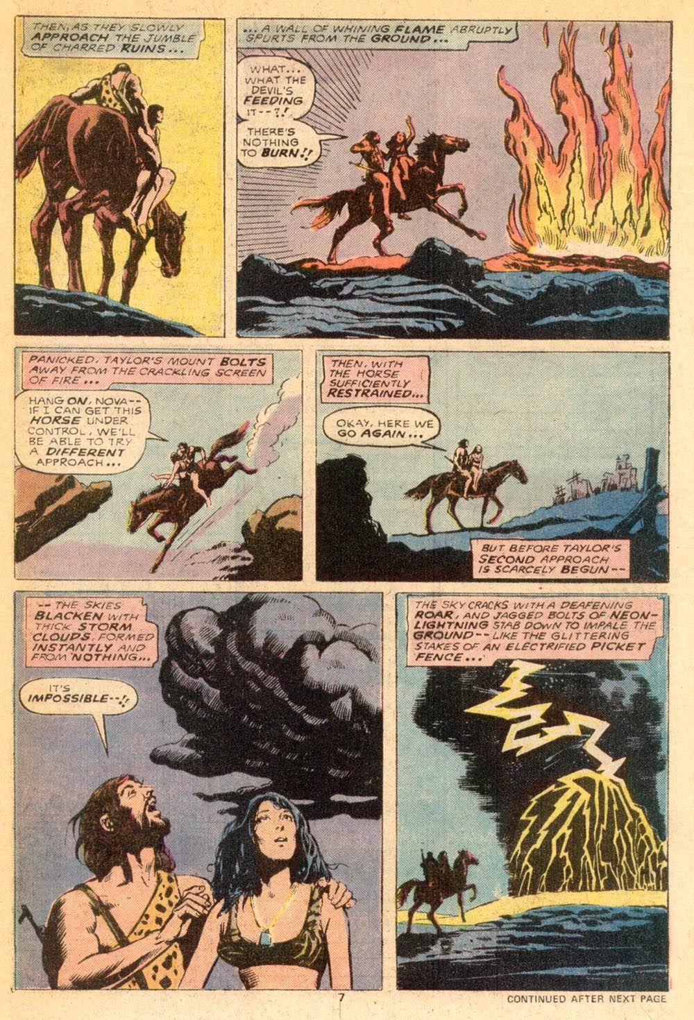 Read online Adventures on the Planet of the Apes comic -  Issue #7 - 6