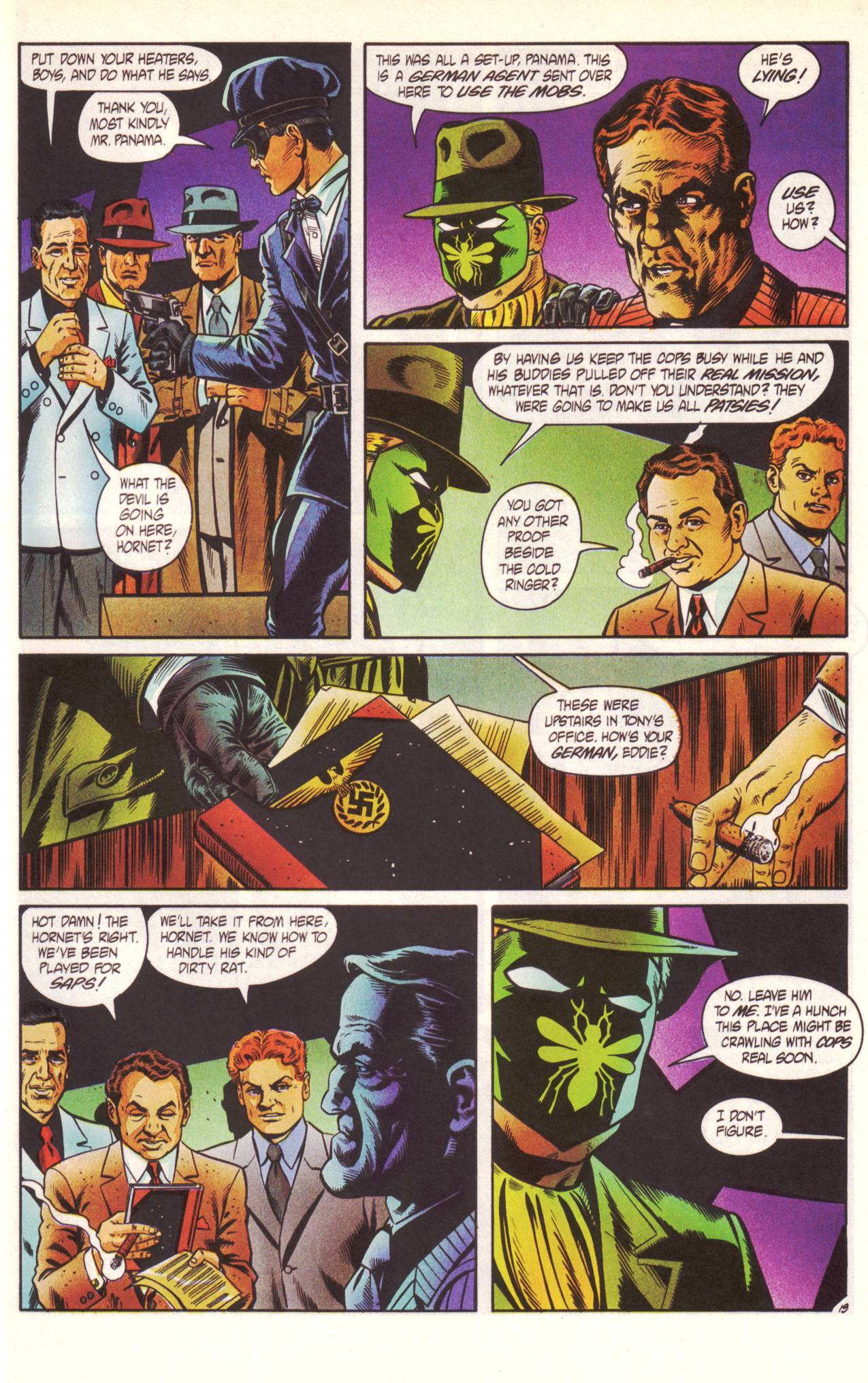 Read online Sting of The Green Hornet comic -  Issue #1 - 20