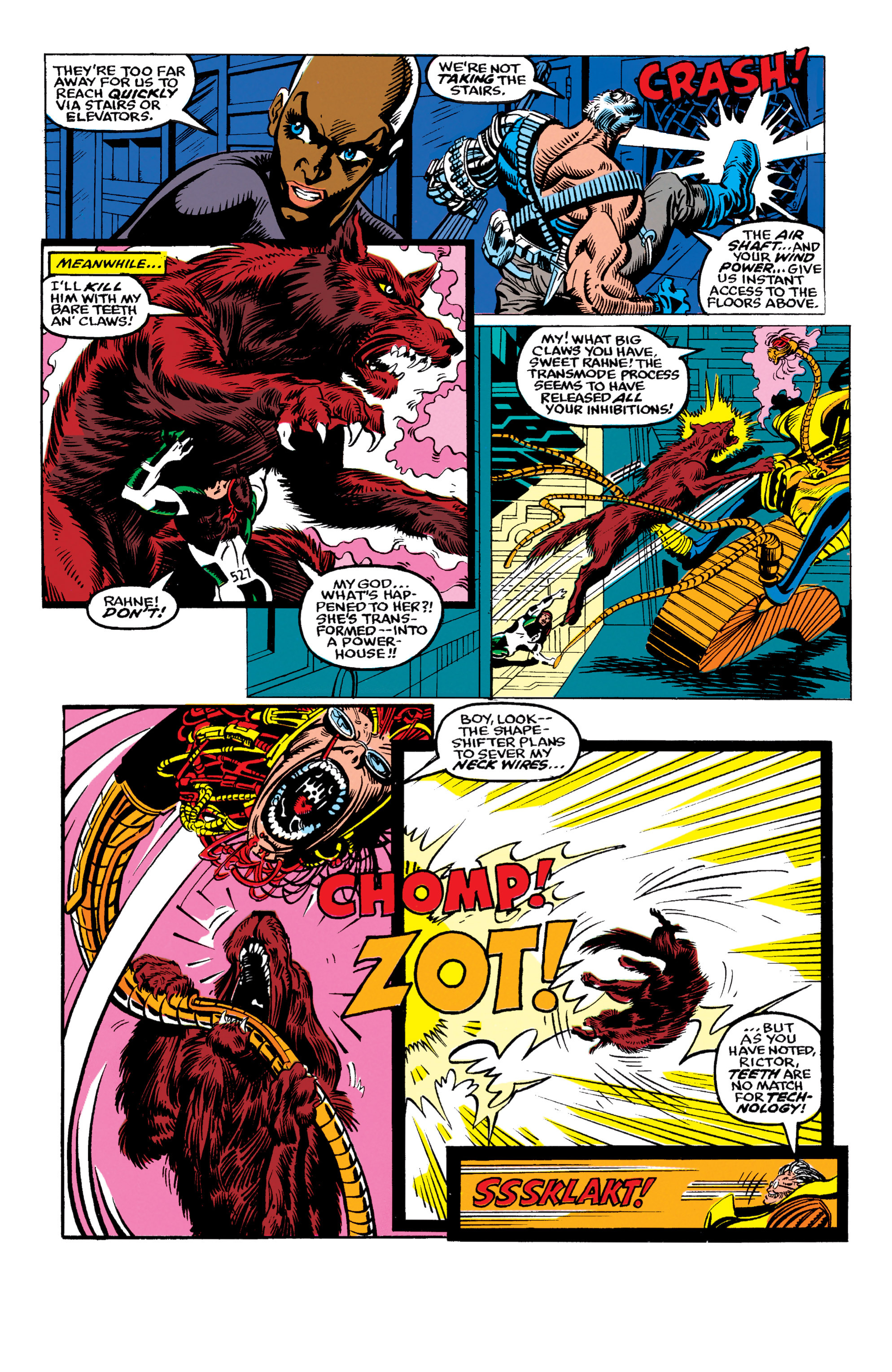 Read online X-Factor (1986) comic -  Issue #62 - 4