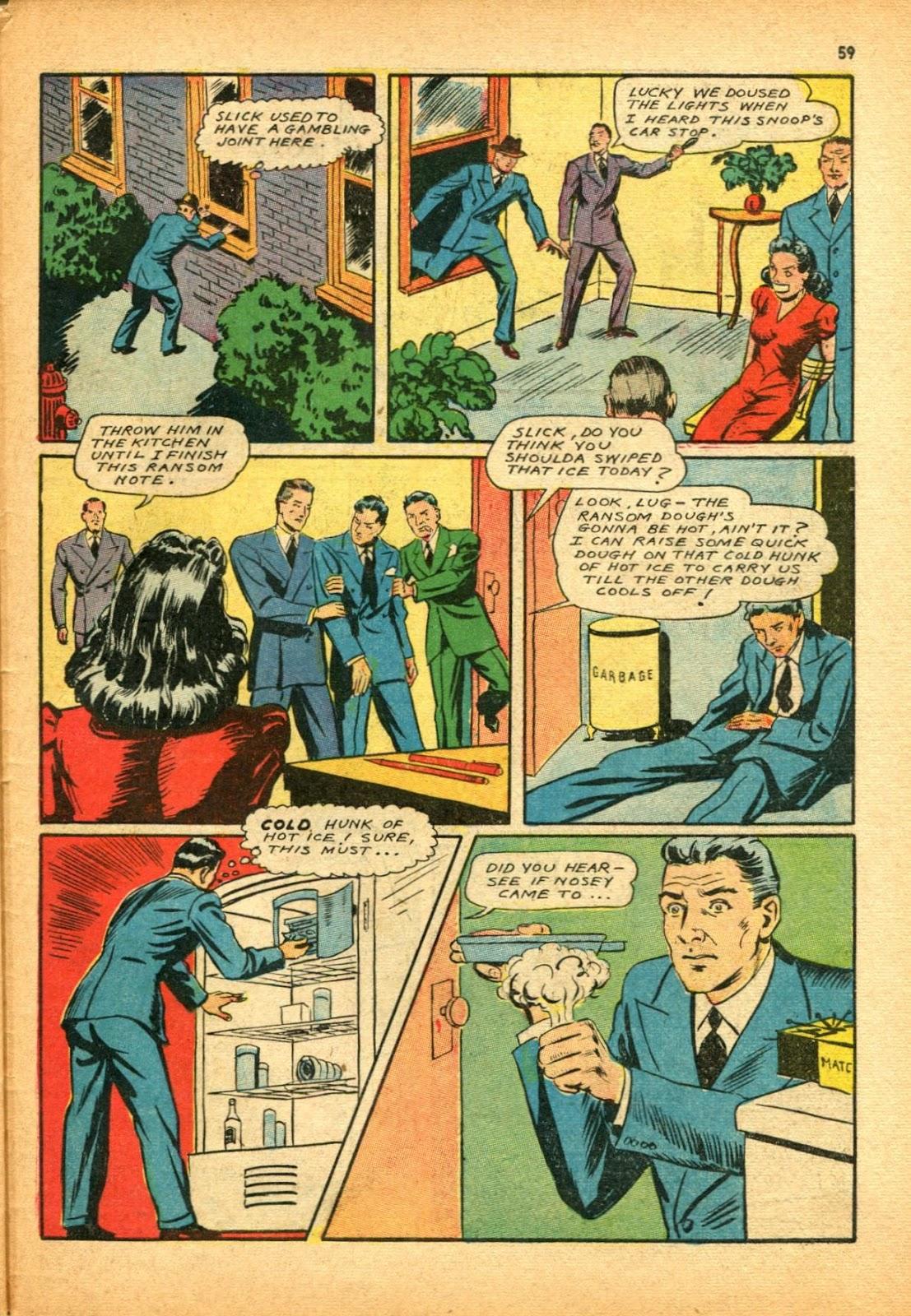 Read online Super-Magician Comics comic -  Issue #12 - 59