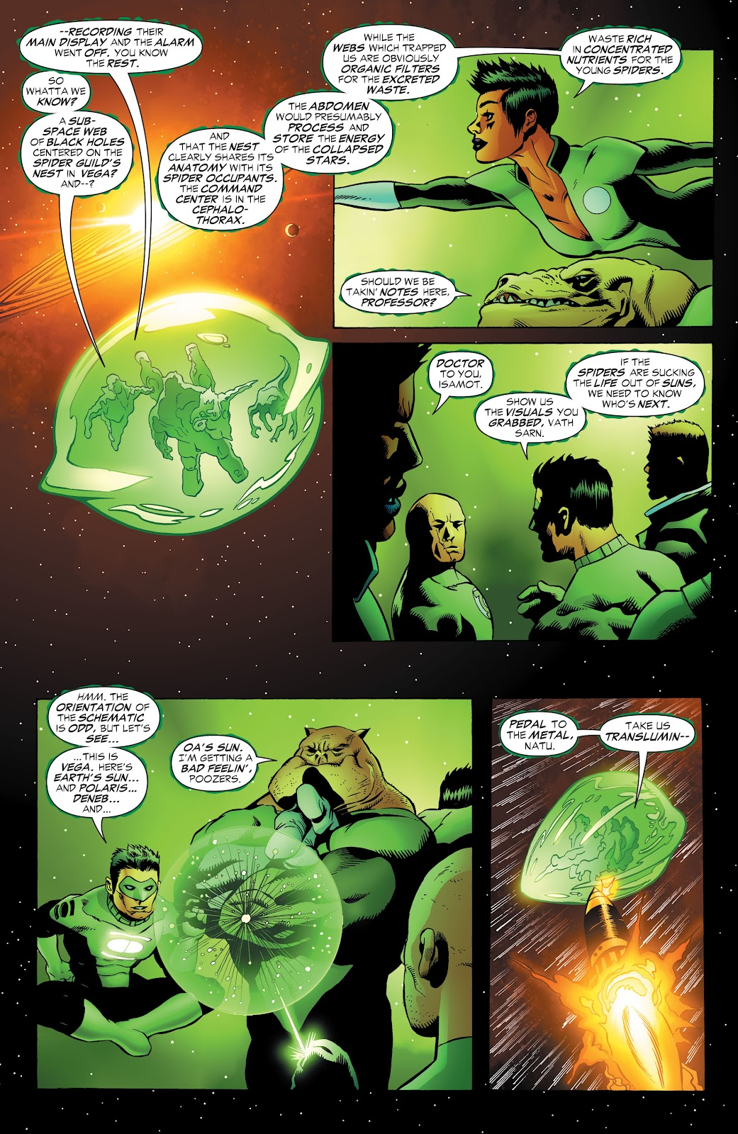Read online Green Lantern by Geoff Johns comic -  Issue # TPB 1 (Part 3) - 67