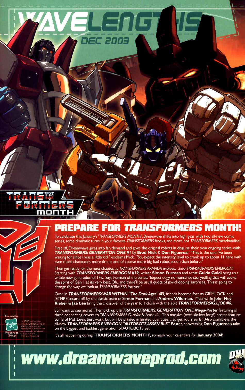 Read online Transformers Armada comic -  Issue #18 - 26