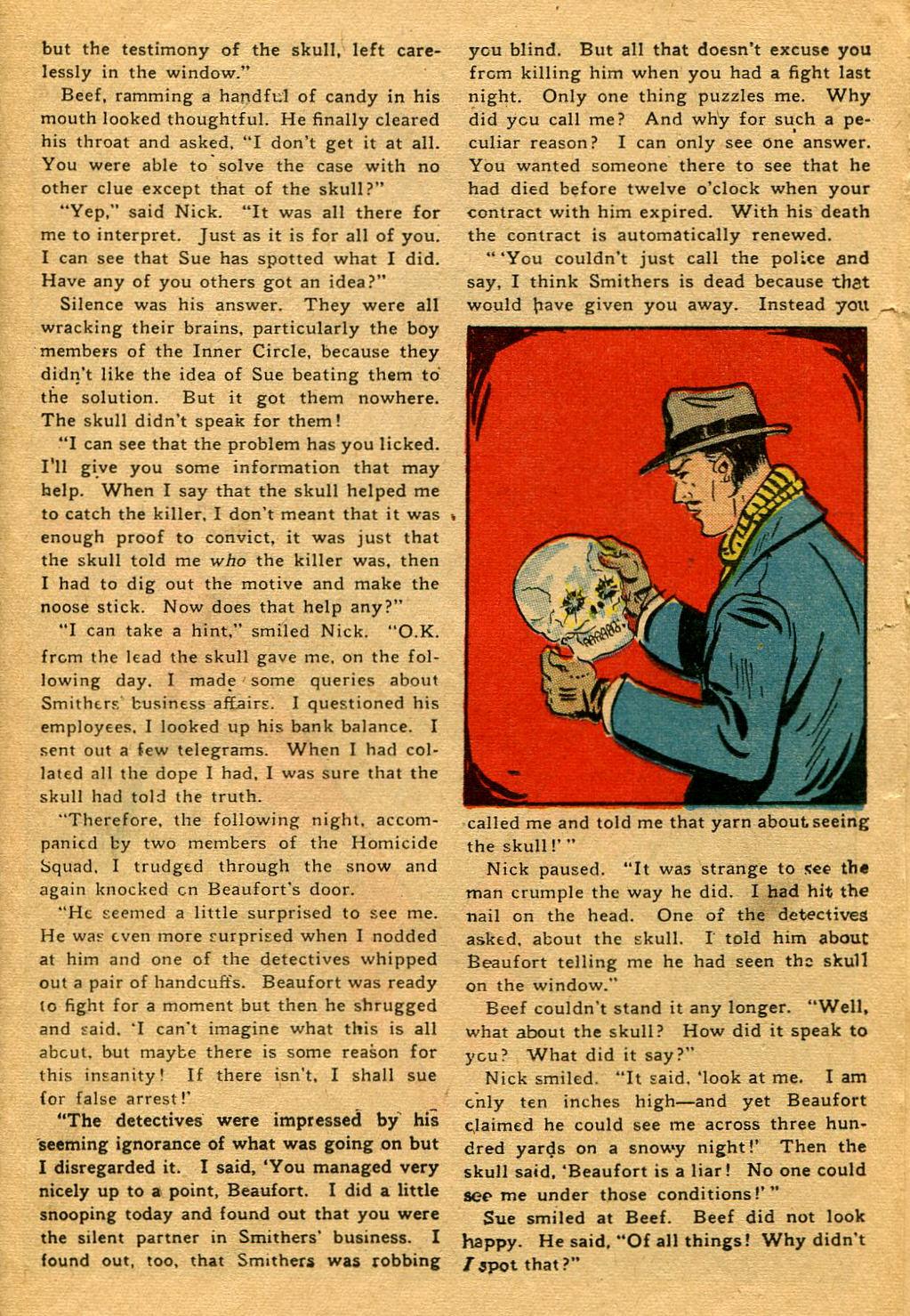 Read online Shadow Comics comic -  Issue #53 - 28