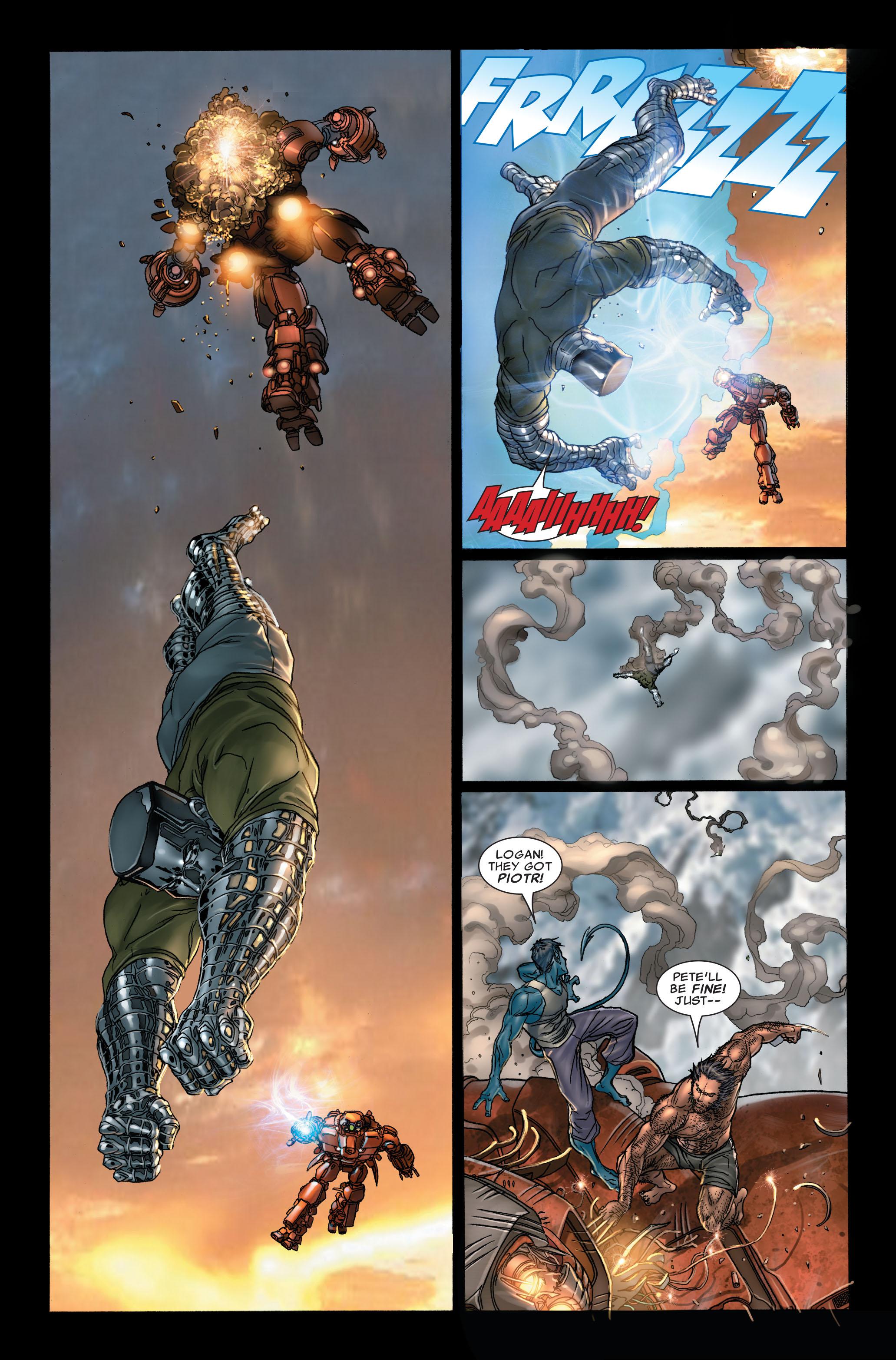 Read online Uncanny X-Men (1963) comic -  Issue #497 - 8