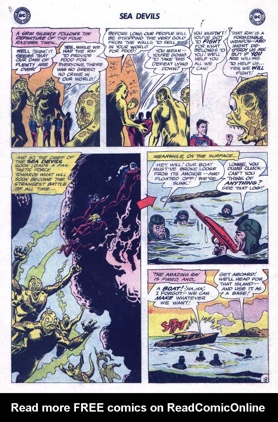Read online Sea Devils comic -  Issue #20 - 26