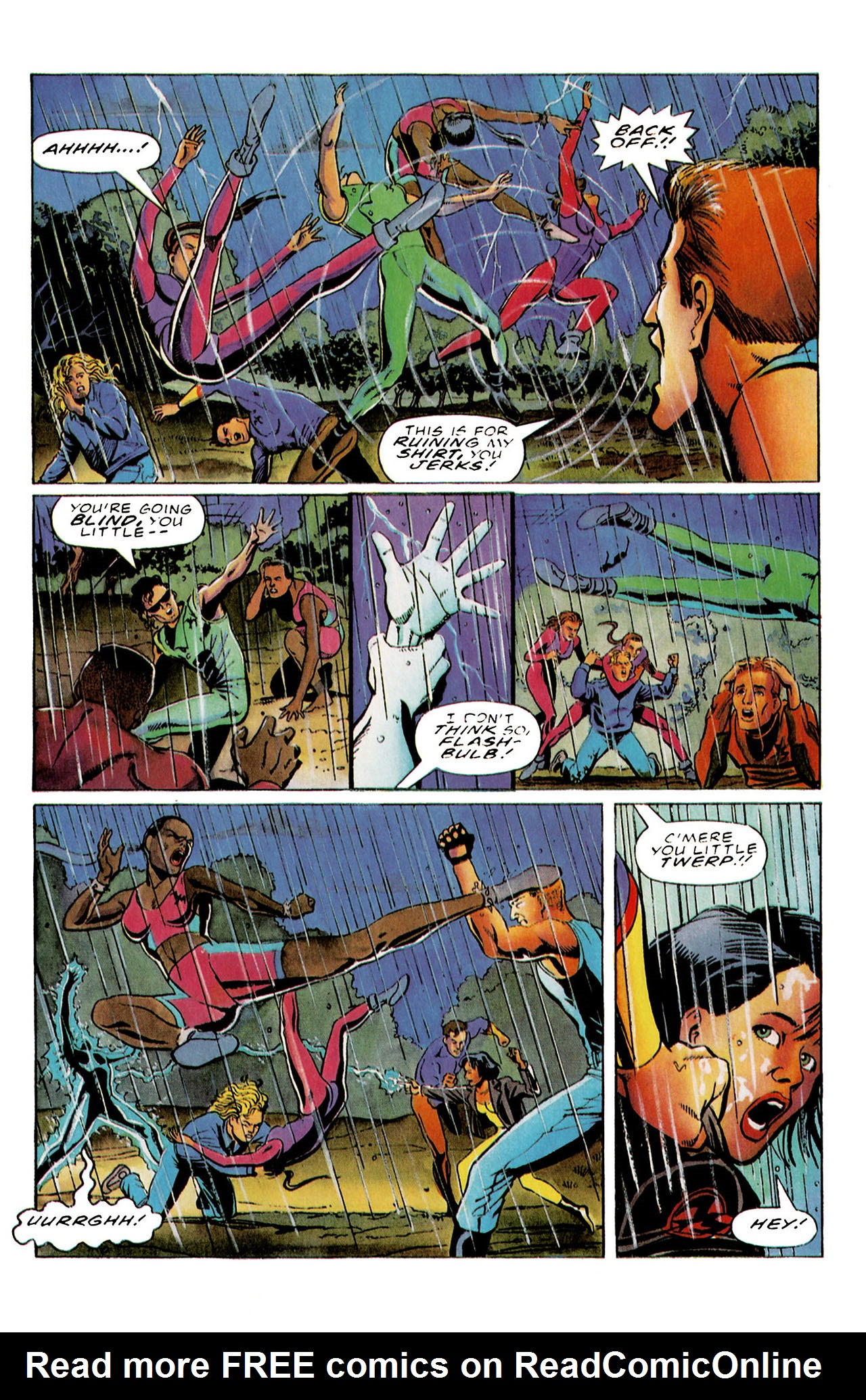 Read online Harbinger (1992) comic -  Issue #26 - 23
