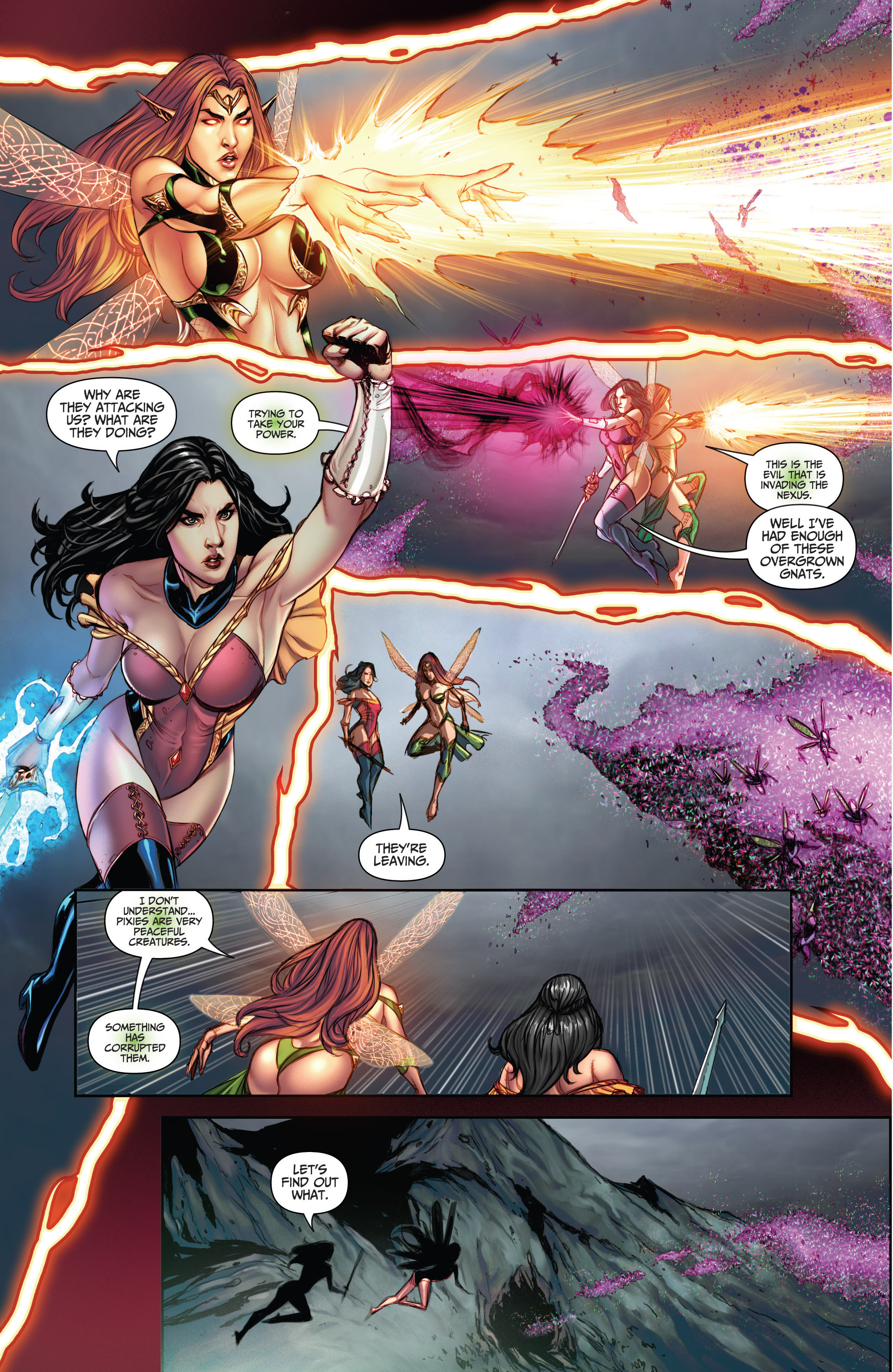 Read online Grimm Fairy Tales (2016) comic -  Issue #5 - 16