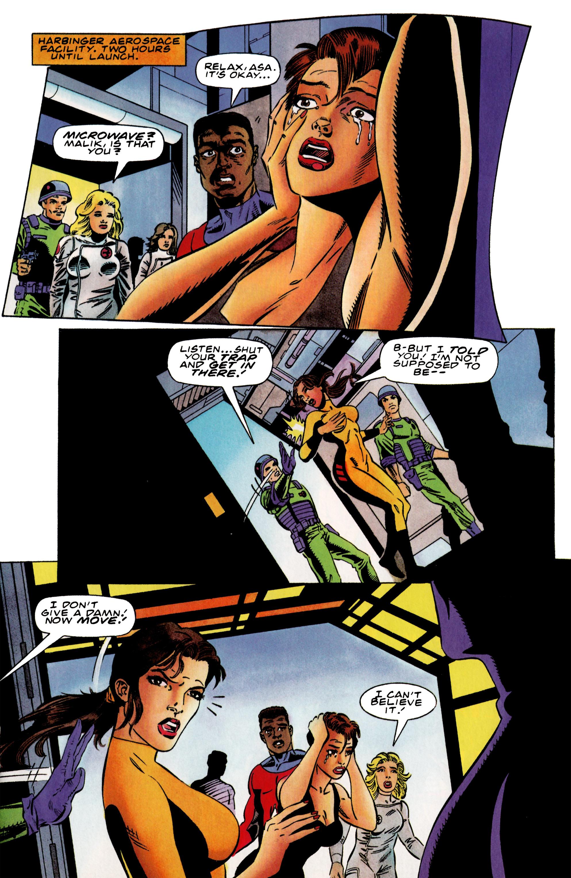 Read online Harbinger (1992) comic -  Issue #37 - 13