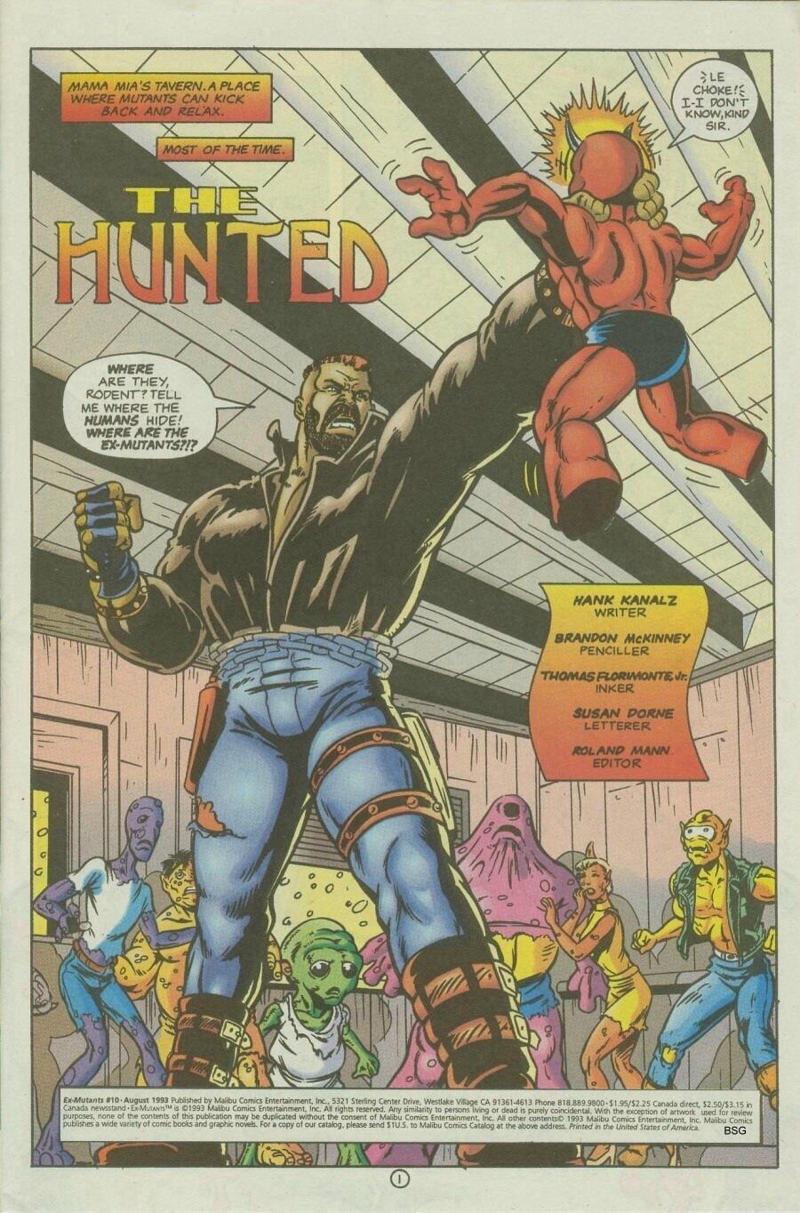 Read online Ex-Mutants comic -  Issue #10 - 3