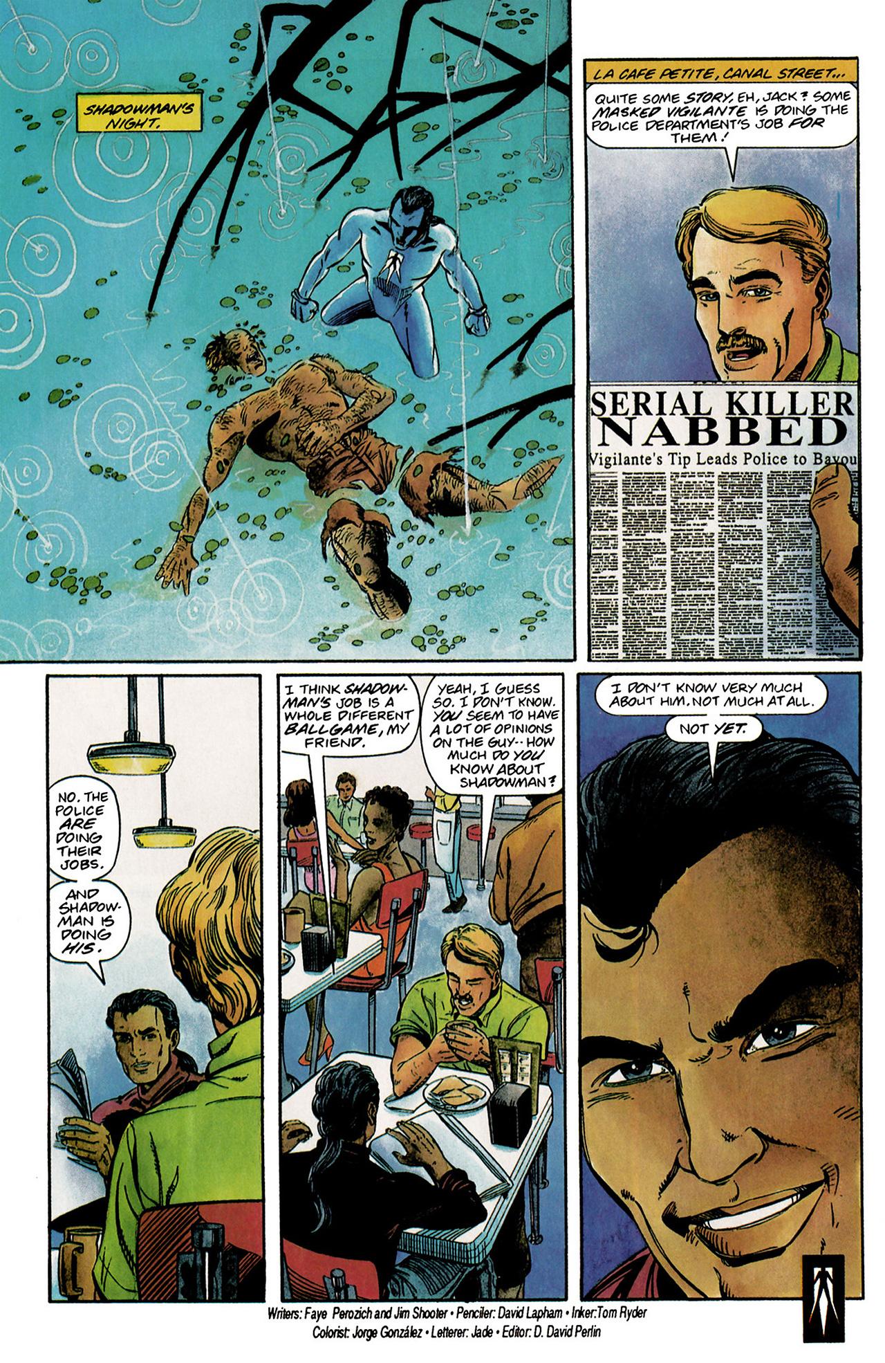 Read online Shadowman (1992) comic -  Issue #2 - 23