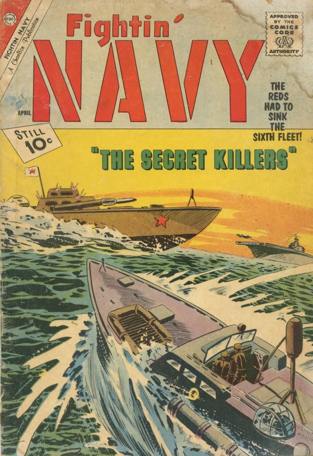 Read online Fightin' Navy comic -  Issue #103 - 1