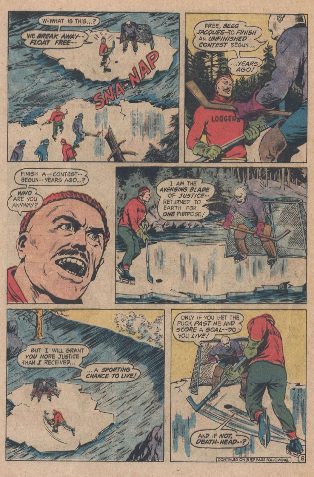 Read online Strange Sports Stories (1973) comic -  Issue #5 - 12