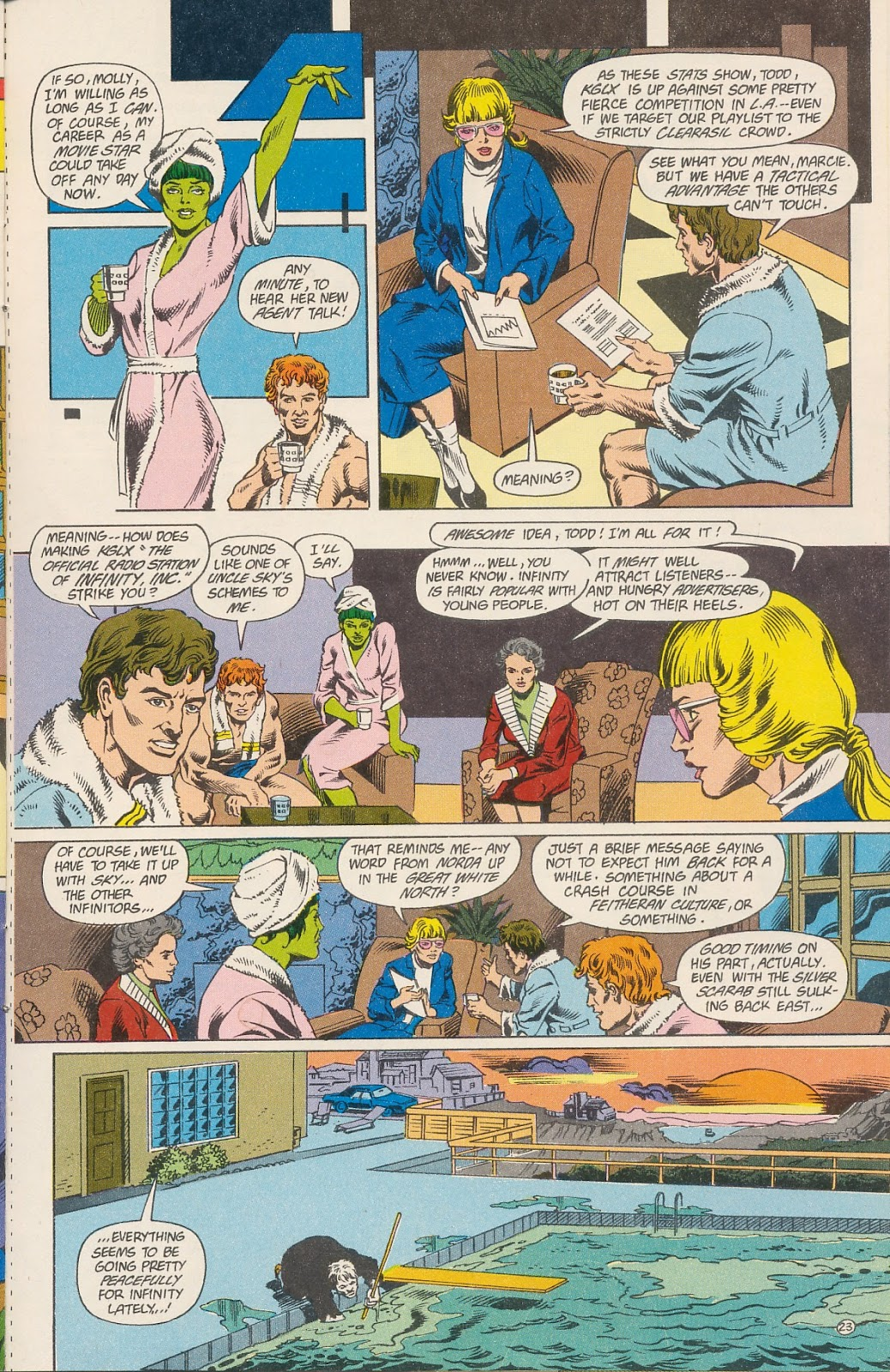 Infinity Inc. (1984) issue 40 - Page 25