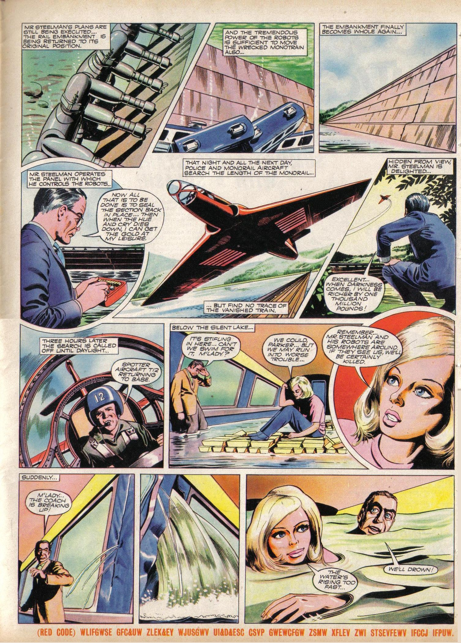 Read online TV Century 21 (TV 21) comic -  Issue #31 - 16