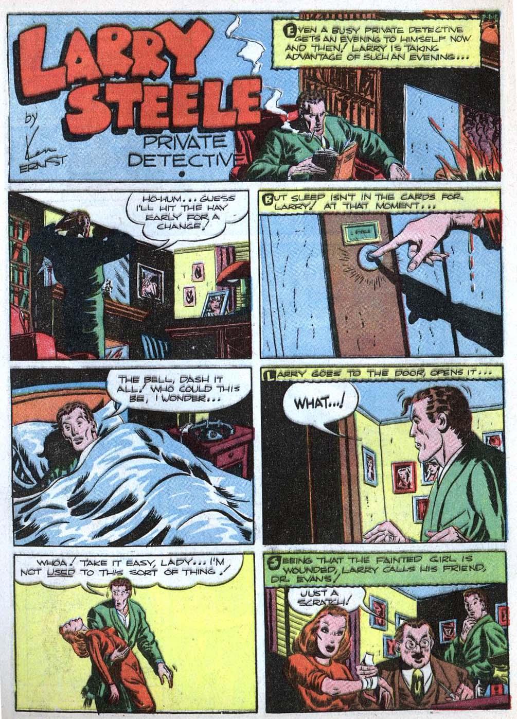 Read online Detective Comics (1937) comic -  Issue #43 - 44