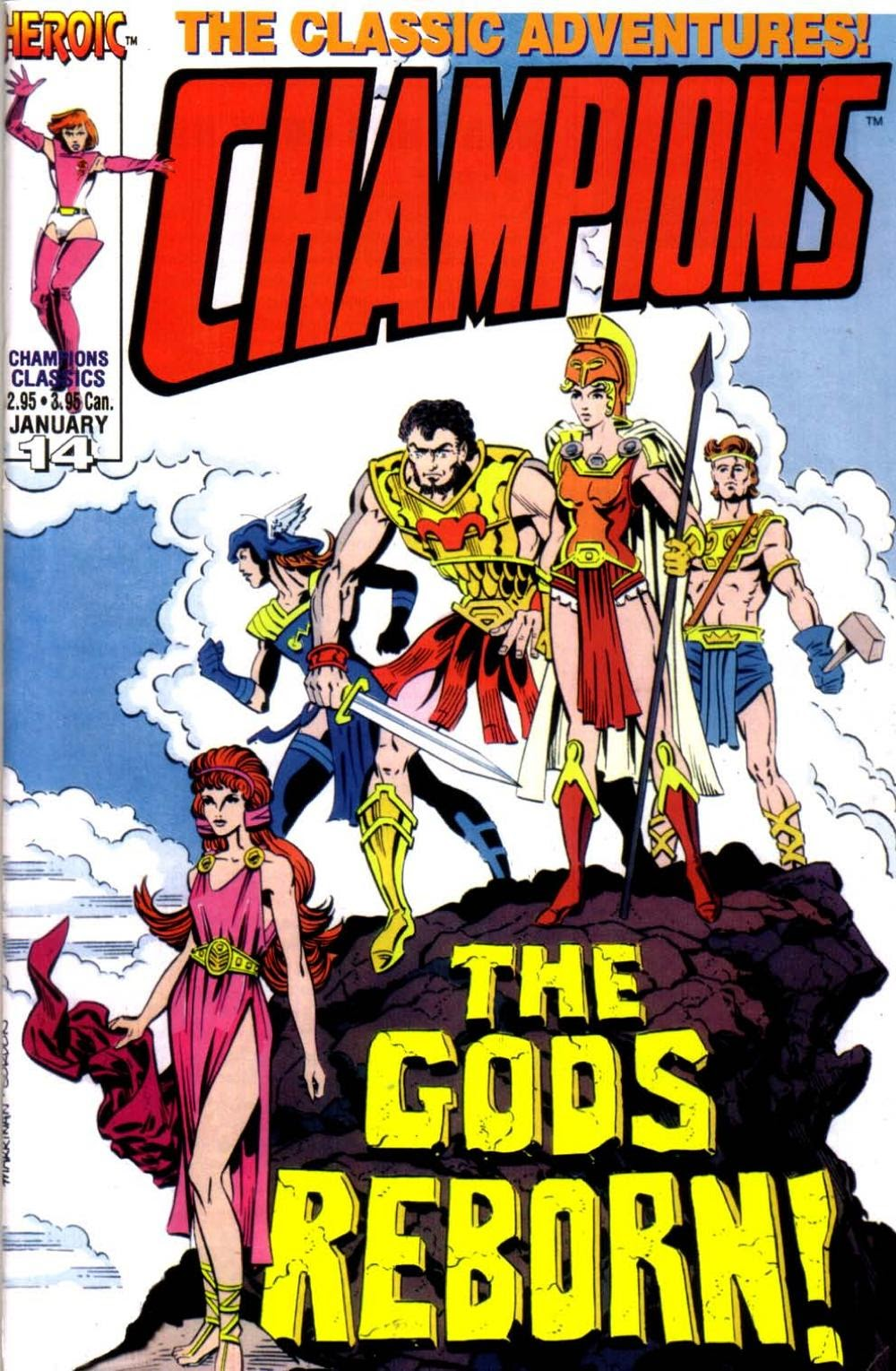 Champions Classics 14 Page 1