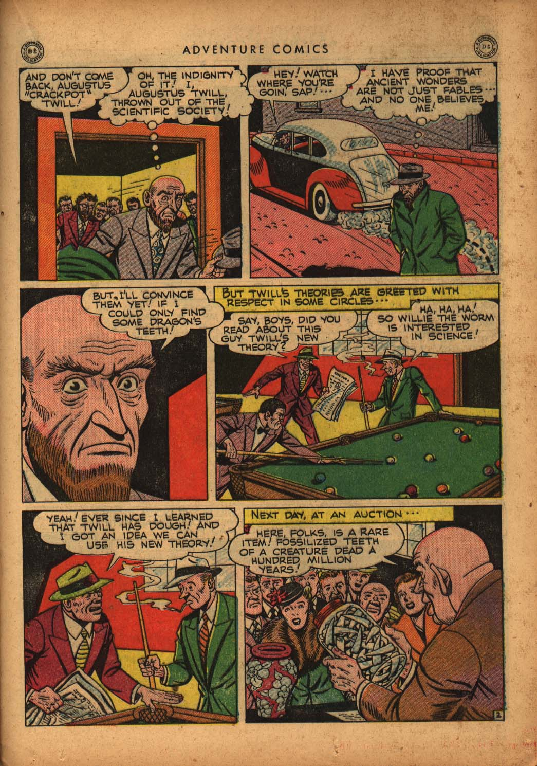 Read online Adventure Comics (1938) comic -  Issue #109 - 35