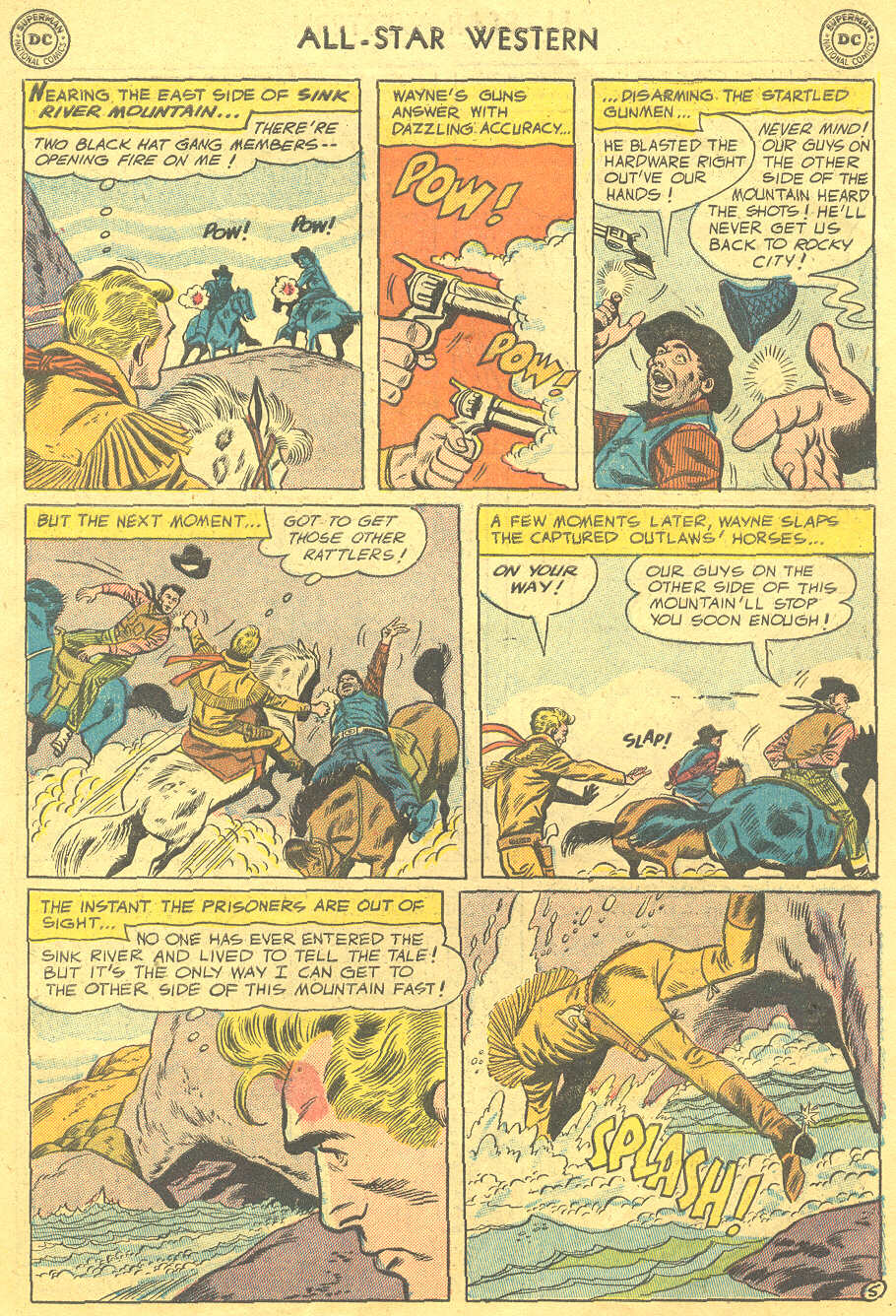 Read online All-Star Western (1951) comic -  Issue #88 - 7