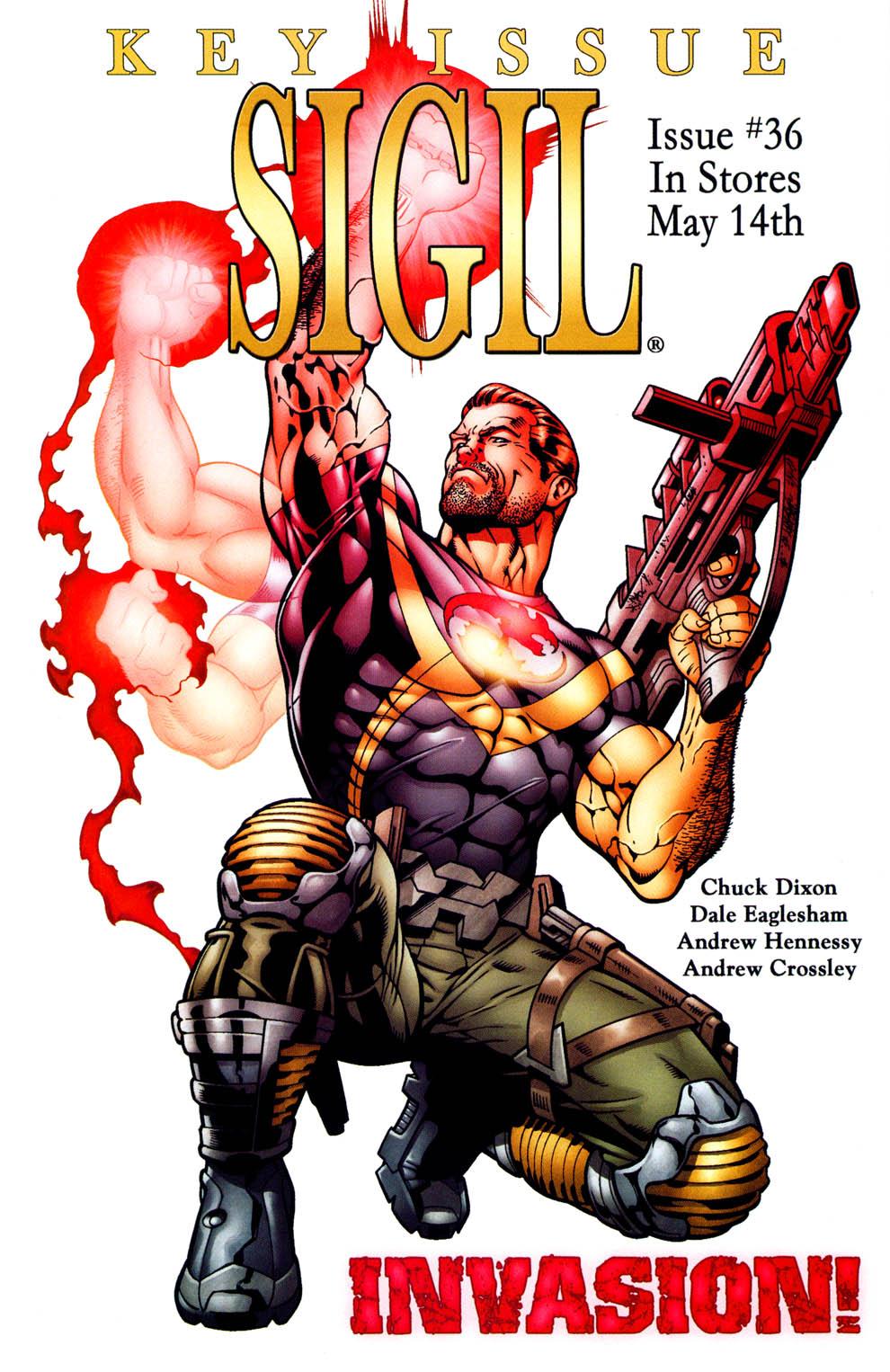 Read online Sigil (2000) comic -  Issue #35 - 24