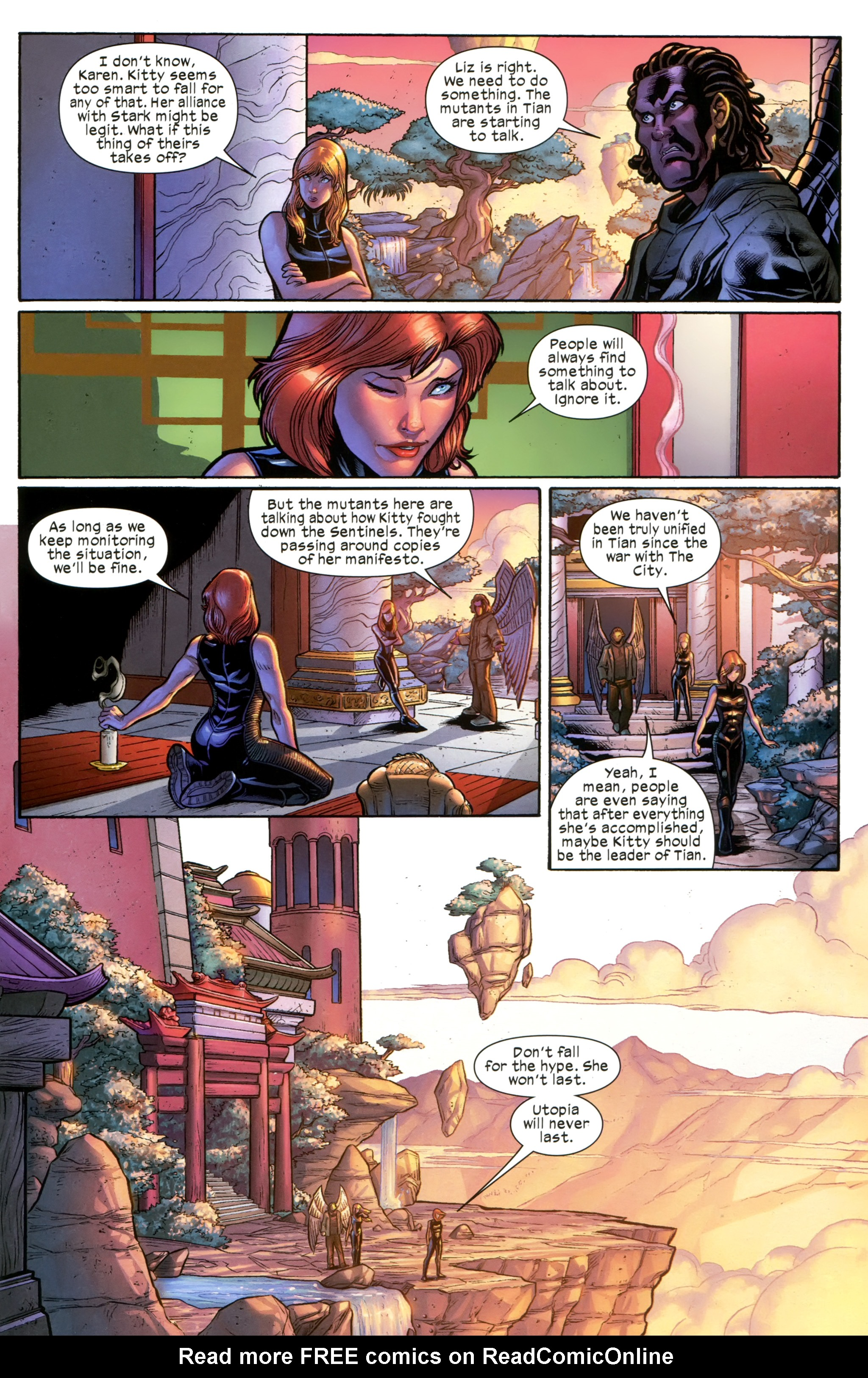 Read online Ultimate Comics X-Men comic -  Issue #21 - 13