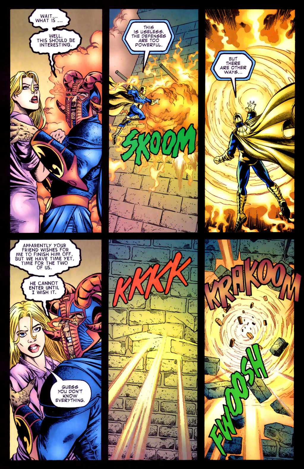 Read online Doctor Fate (2003) comic -  Issue #5 - 11