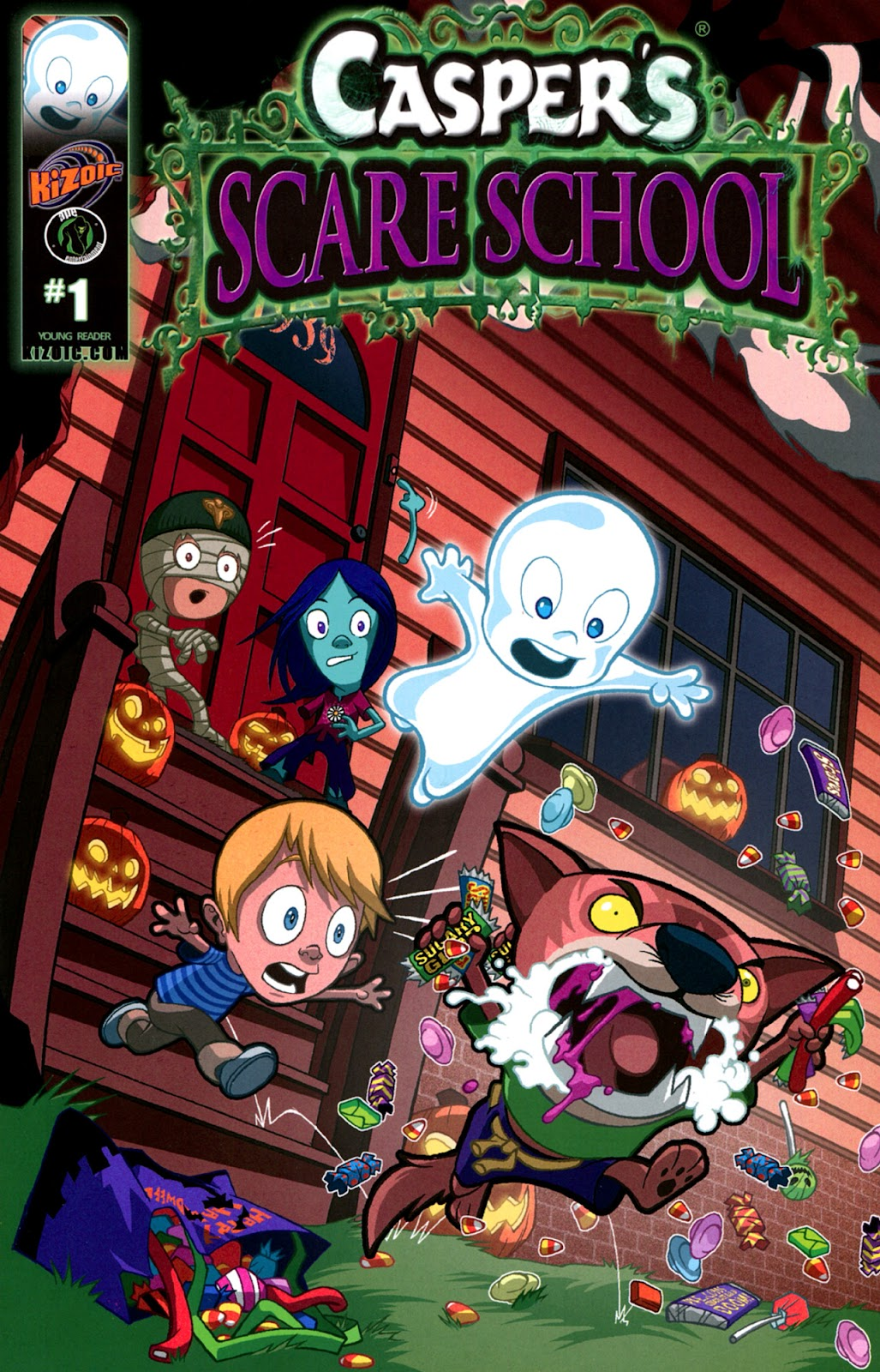 Read online Casper's Scare School comic -  Issue #1 - 1