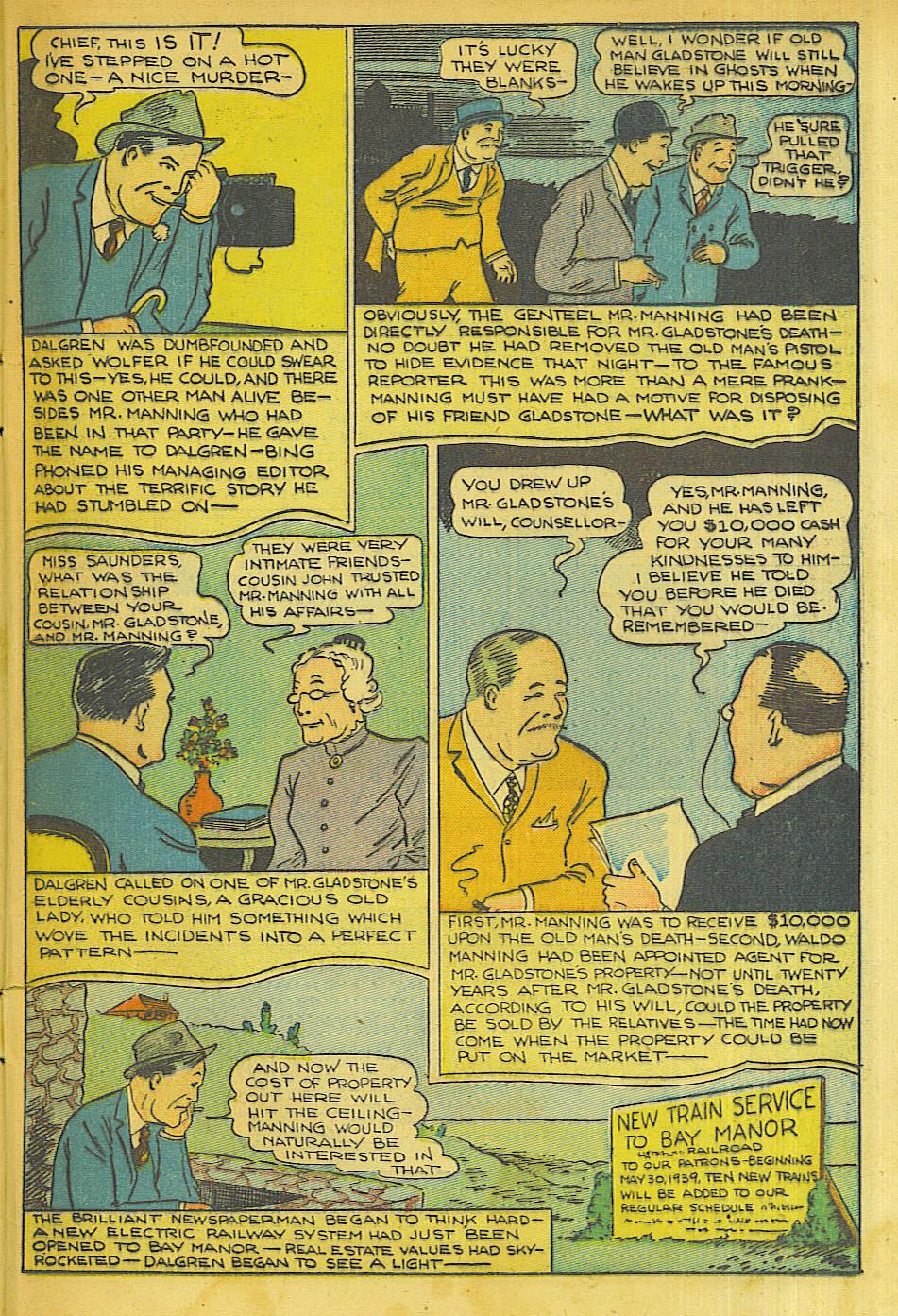 Read online Shadow Comics comic -  Issue #63 - 45