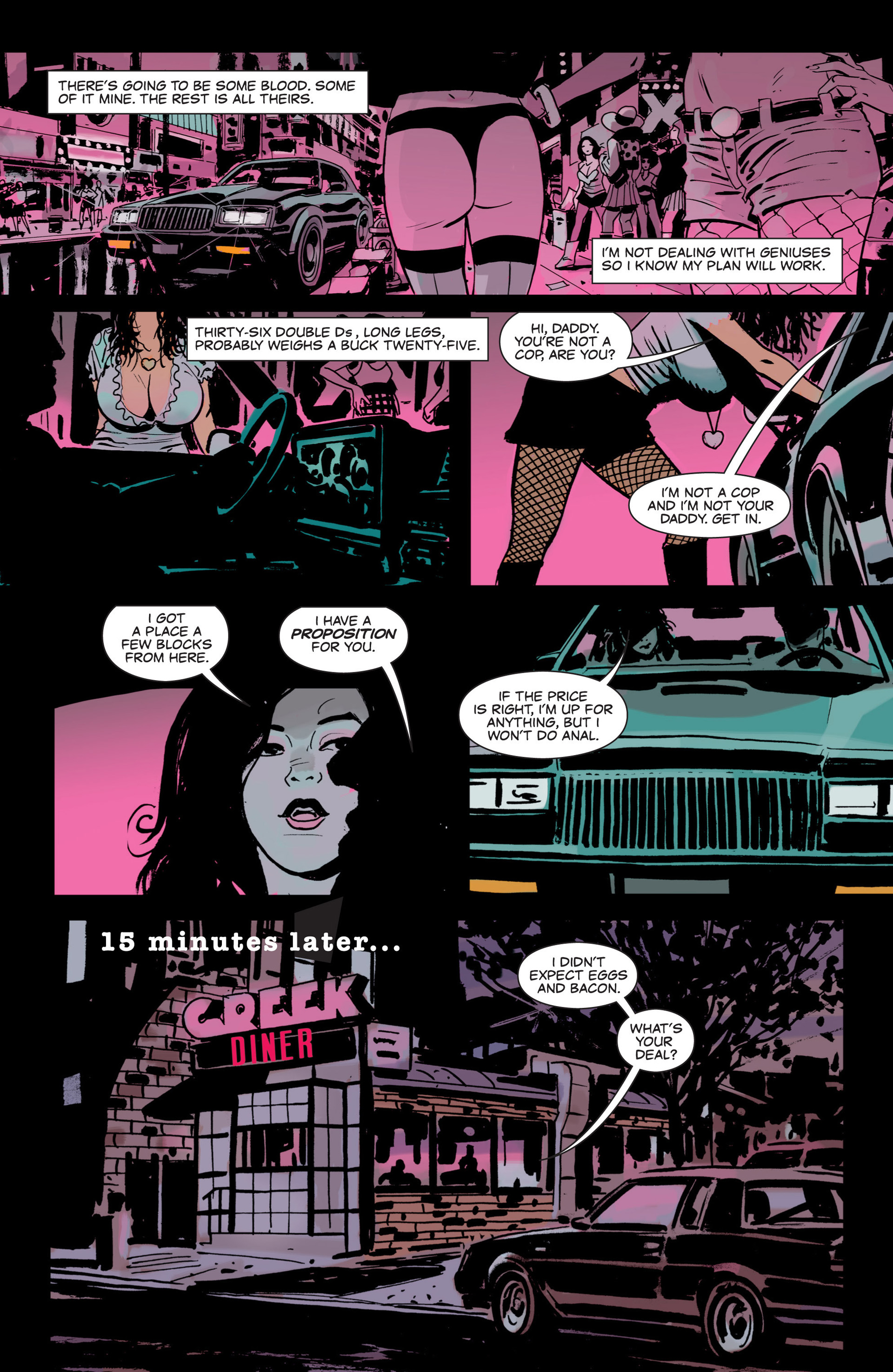Read online Sex and Violence comic -  Issue # Full - 10