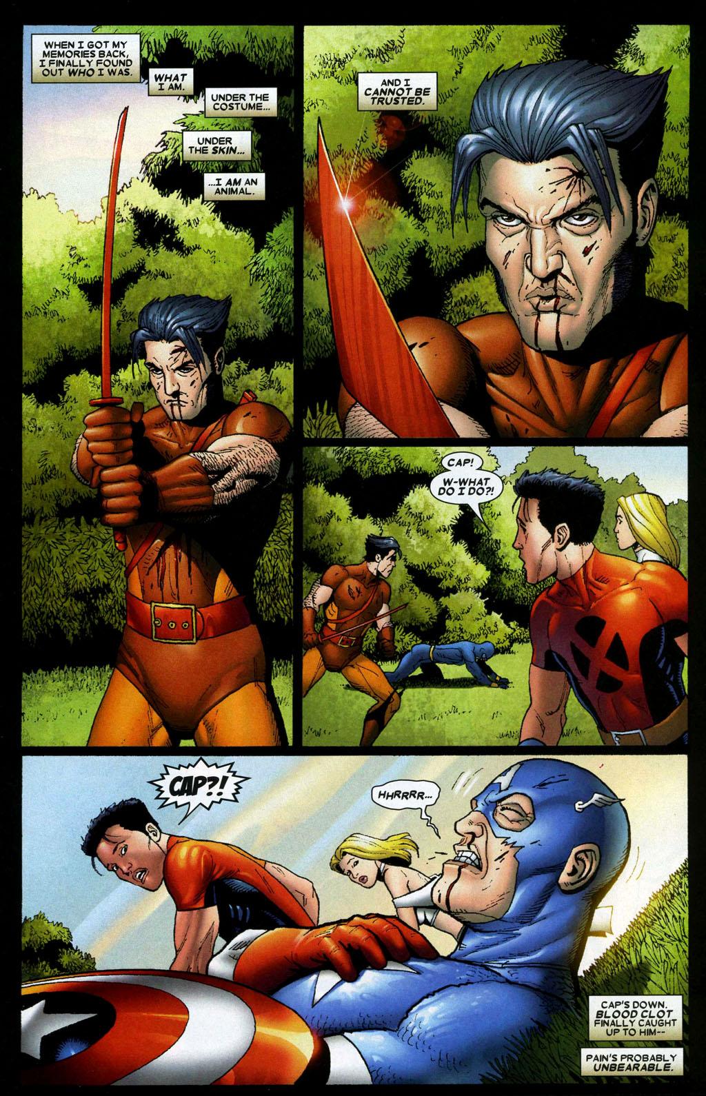 Read online Wolverine: Origins comic -  Issue #5 - 20