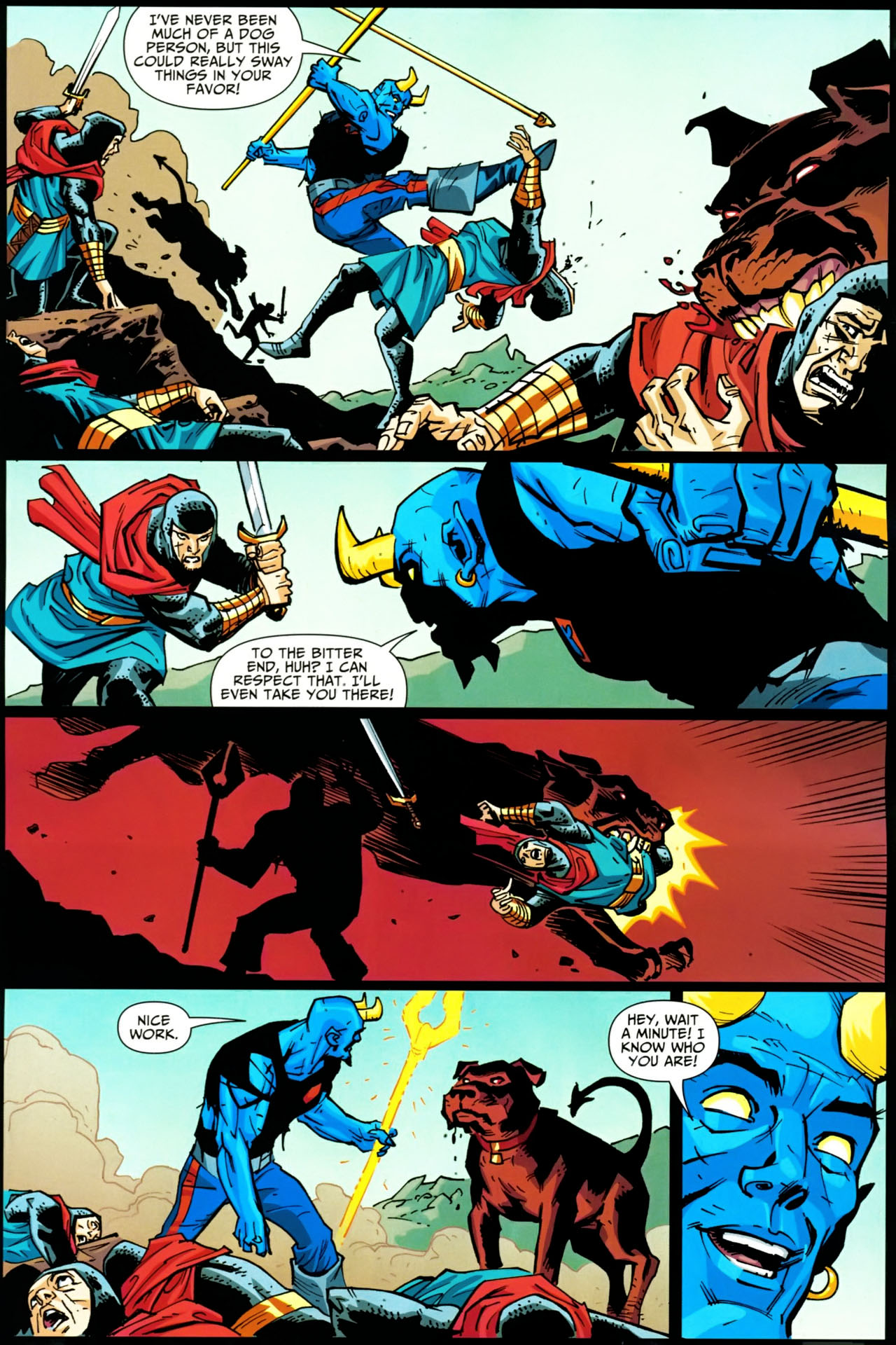 Read online Shadowpact comic -  Issue #20 - 15