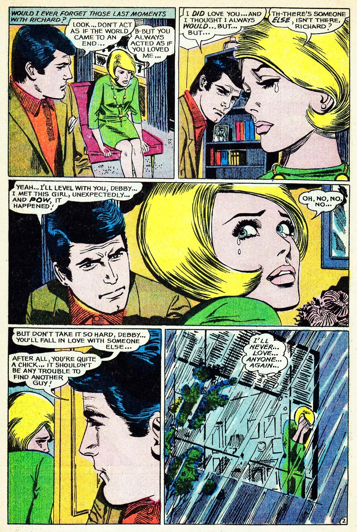Read online Secret Hearts comic -  Issue #133 - 4