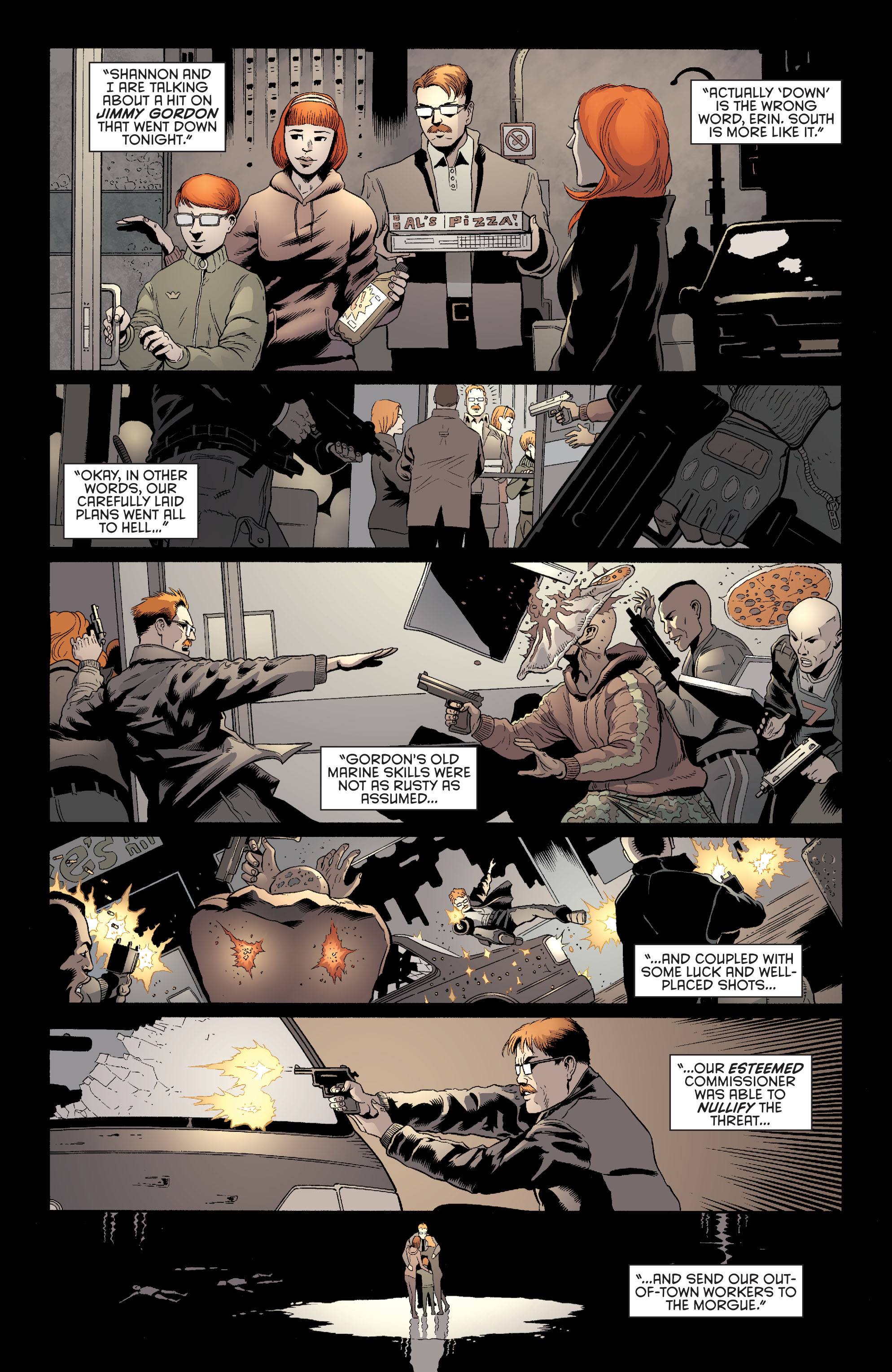 Read online Batman and Robin (2011) comic -  Issue #27 - Batman and Two-Face - 14