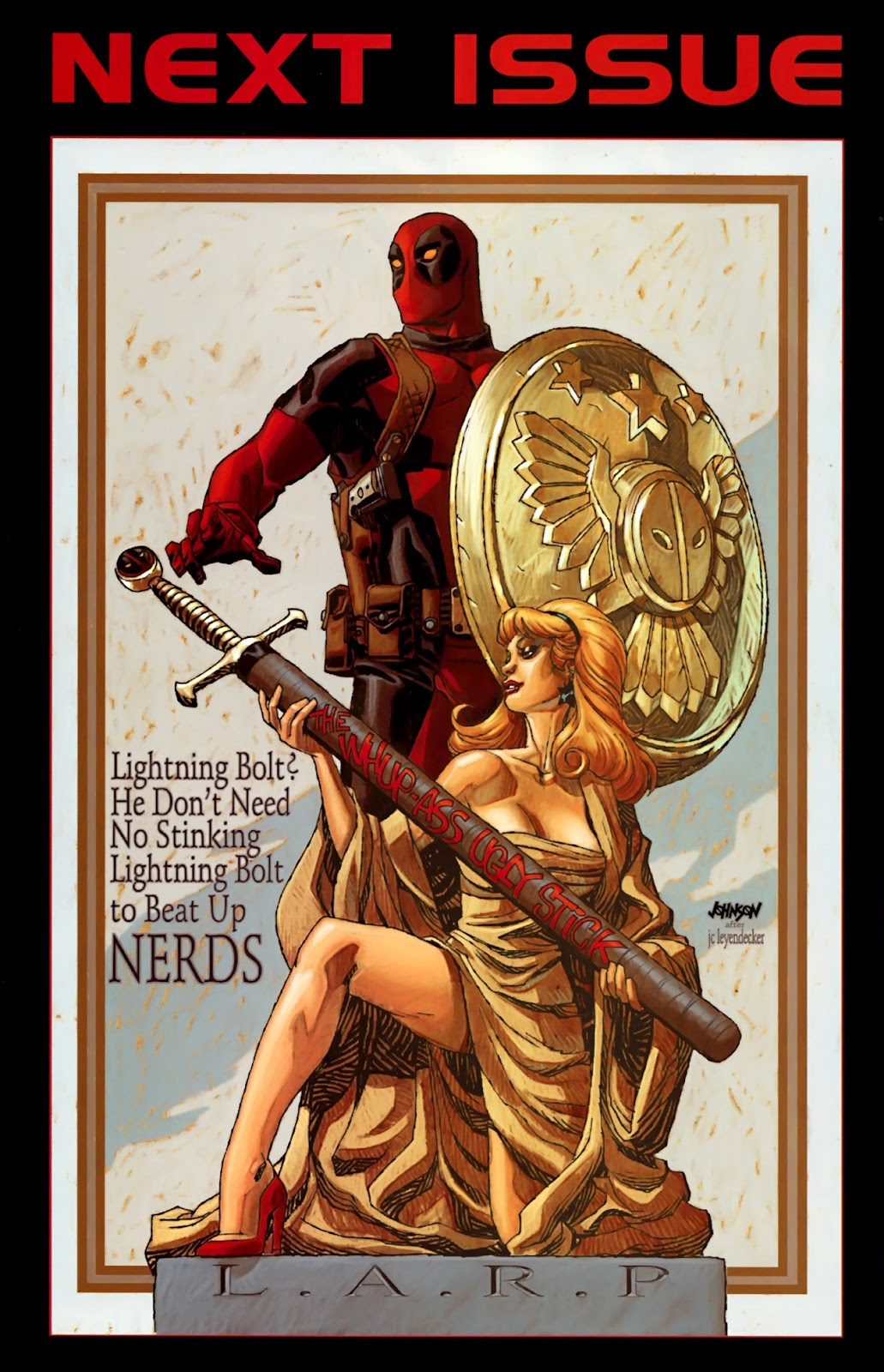 Read online Deadpool (2008) comic -  Issue #26 - 25