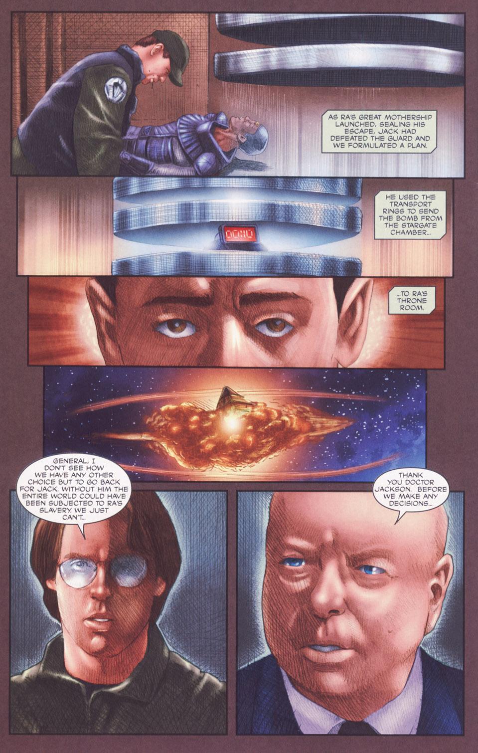 Read online Stargate SG-1: POW comic -  Issue #2 - 16