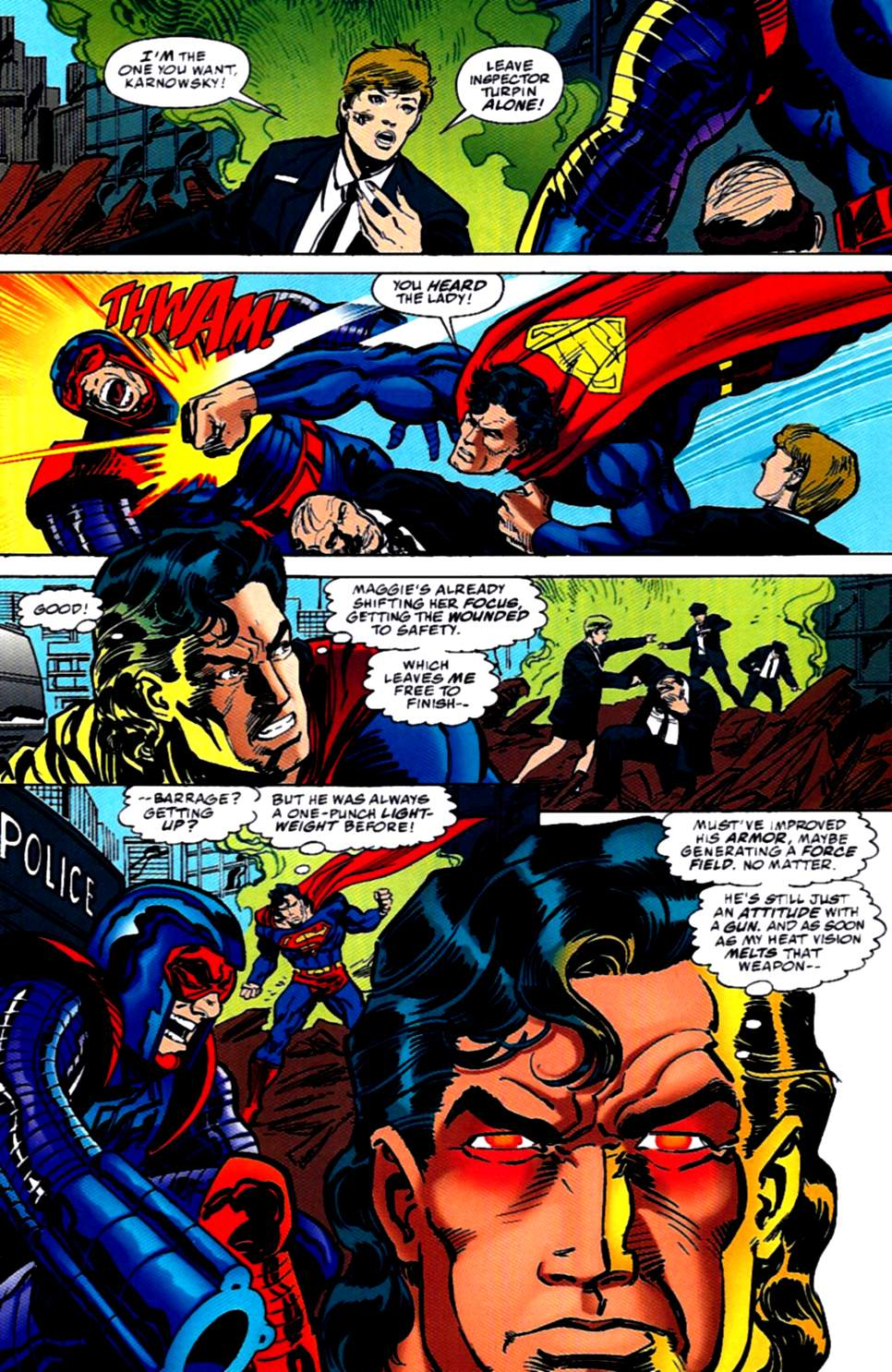 Read online Action Comics (1938) comic -  Issue #726 - 16