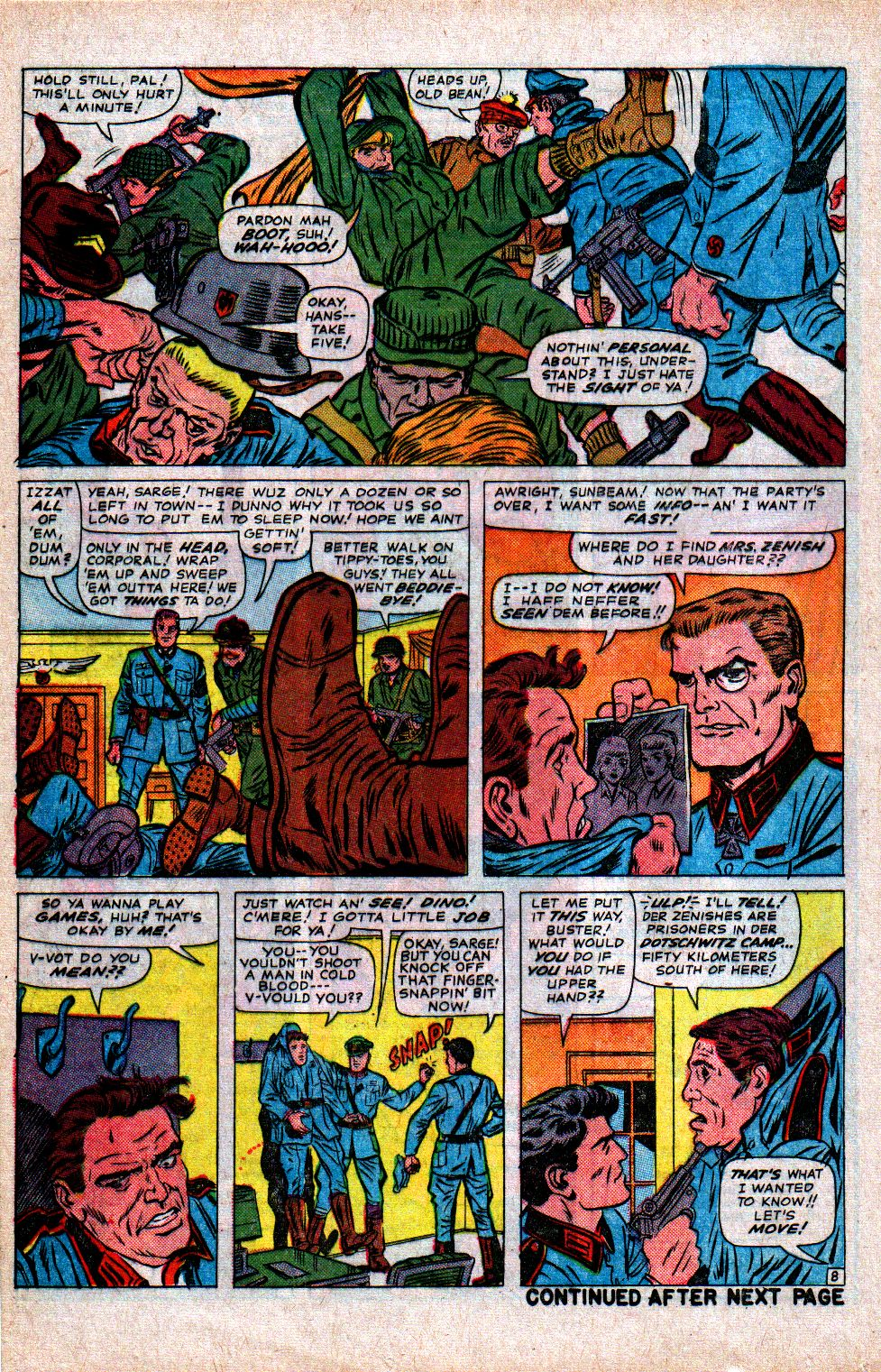 Read online Sgt. Fury comic -  Issue #21 - 12