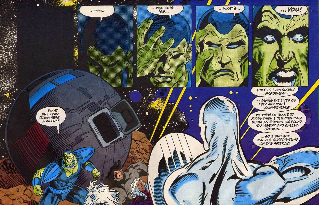 Read online Secret Defenders comic -  Issue #14 - 15