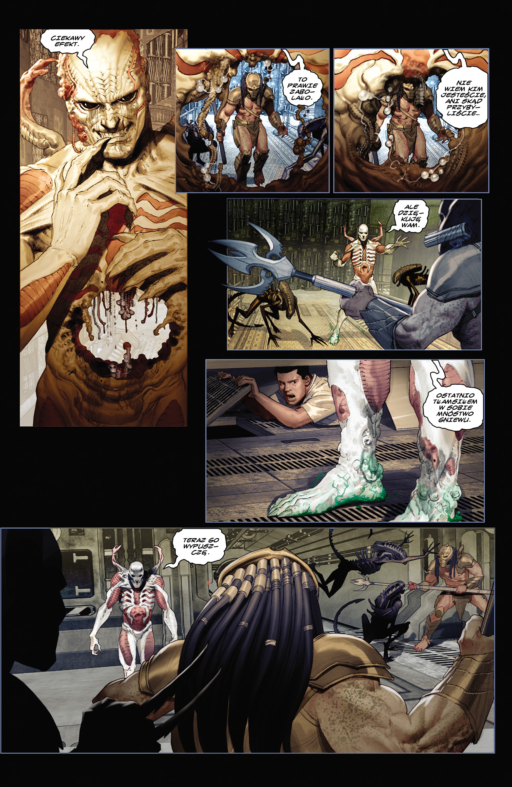 Read online Alien vs. Predator: Fire and Stone comic -  Issue #2 - 3