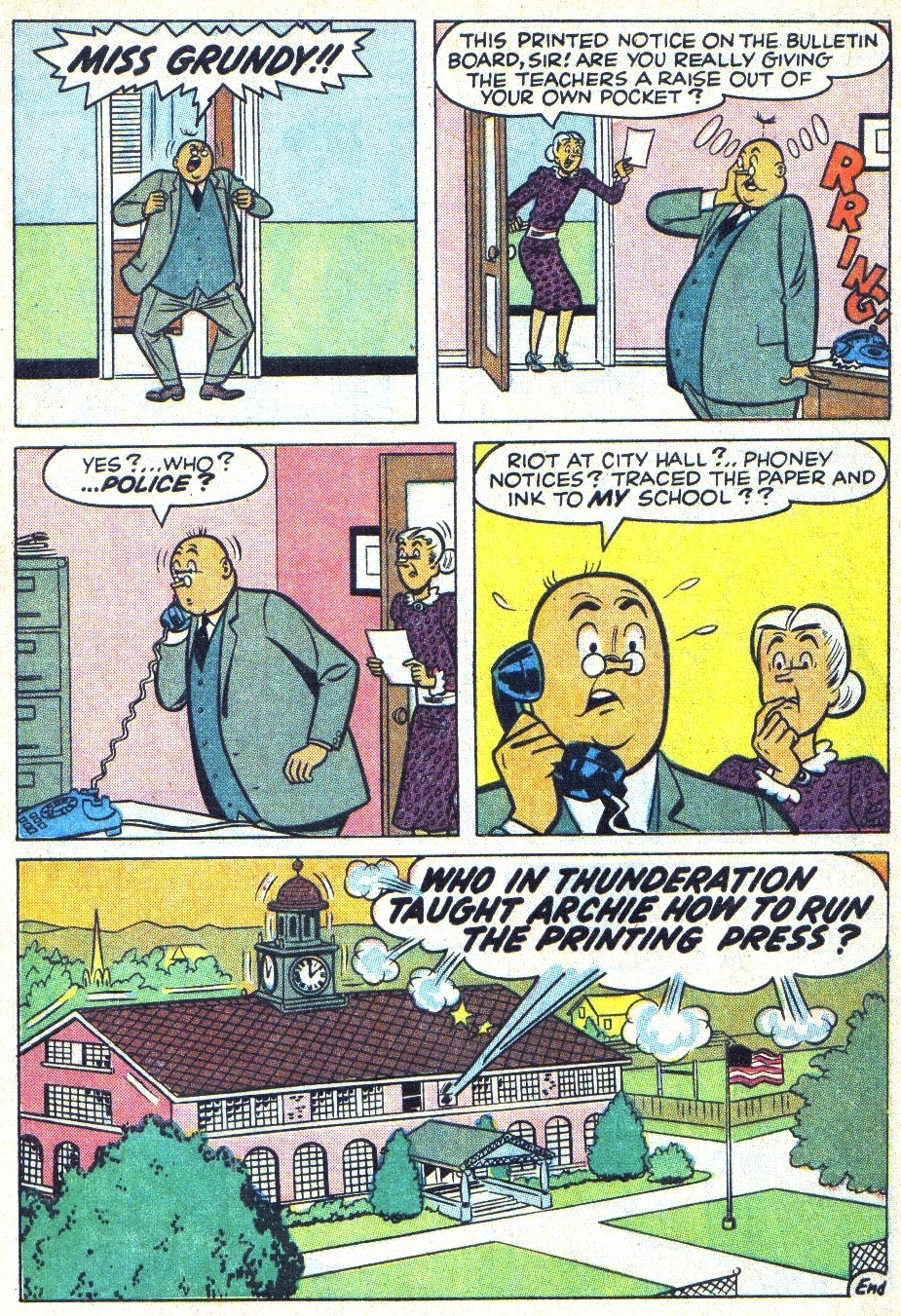 Read online Archie (1960) comic -  Issue #166 - 8