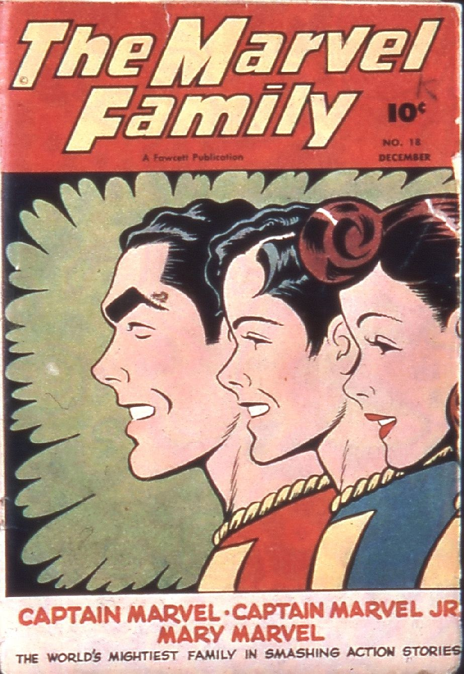 The Marvel Family 18 Page 1