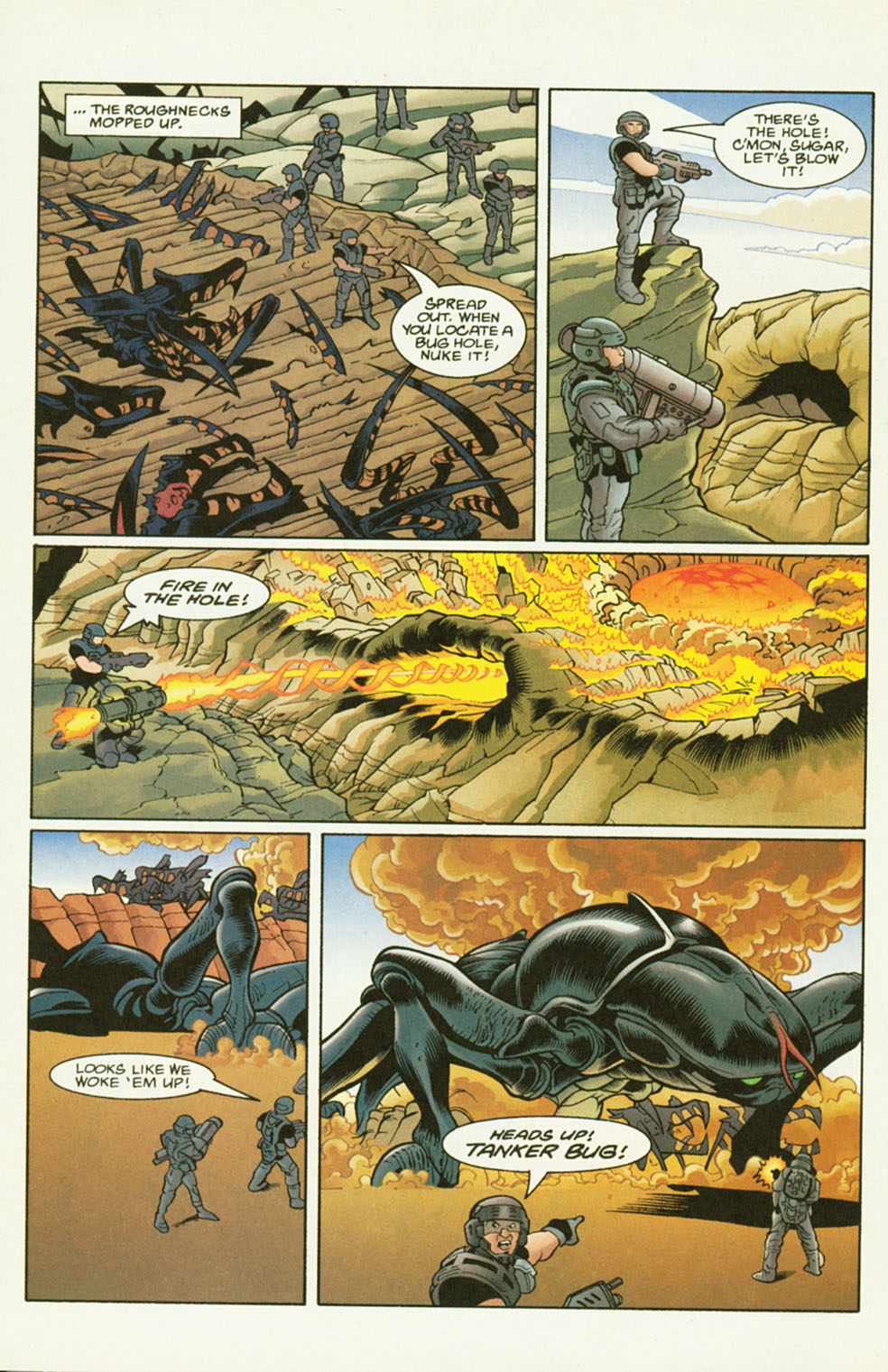 Read online Starship Troopers comic -  Issue #2 - 6