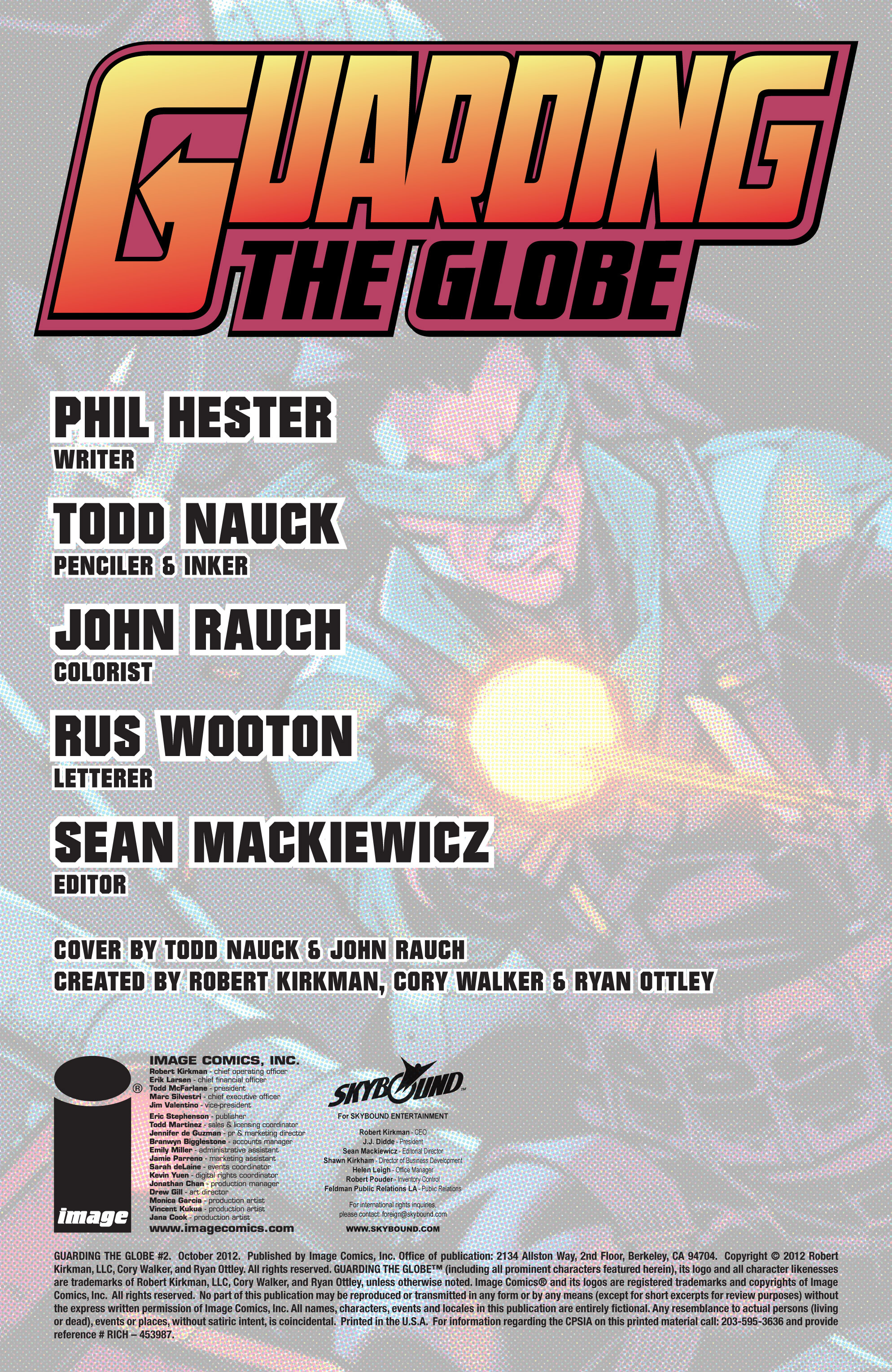 Read online Guarding the Globe (2012) comic -  Issue #2 - 2