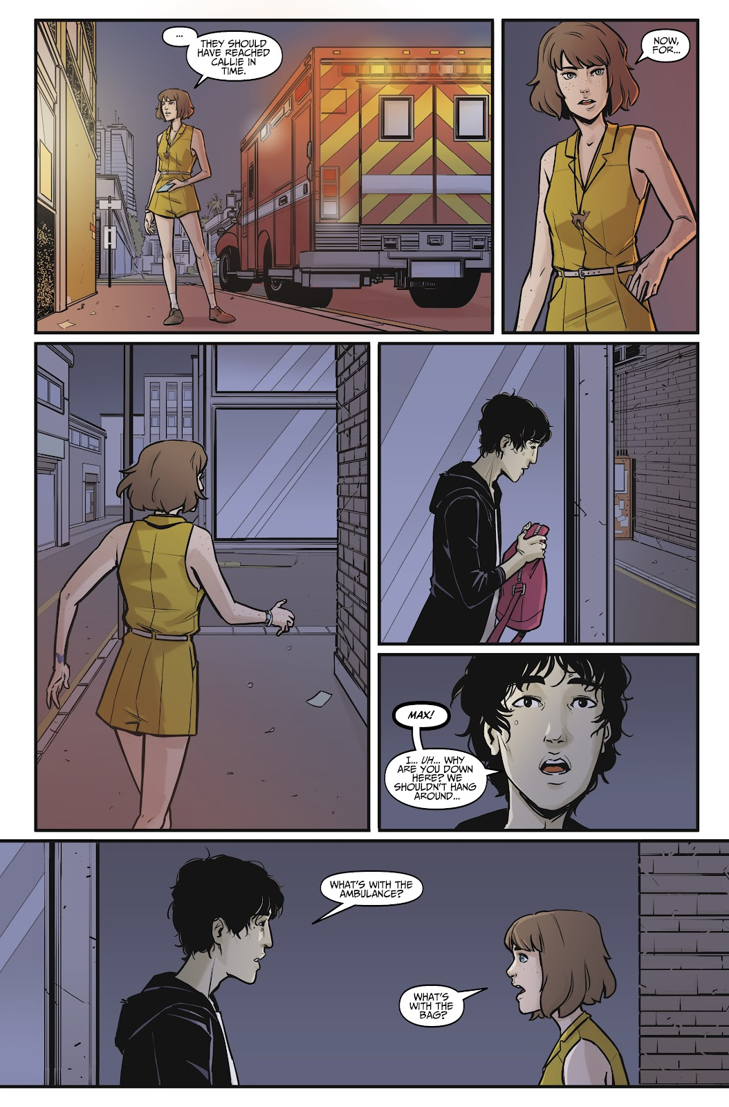 Read online Life is Strange comic -  Issue #8 - 12