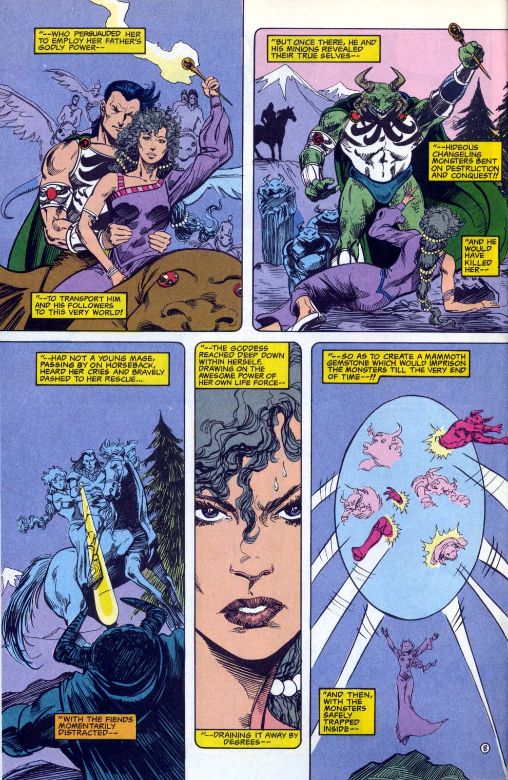 Read online Advanced Dungeons & Dragons comic -  Issue #3 - 8
