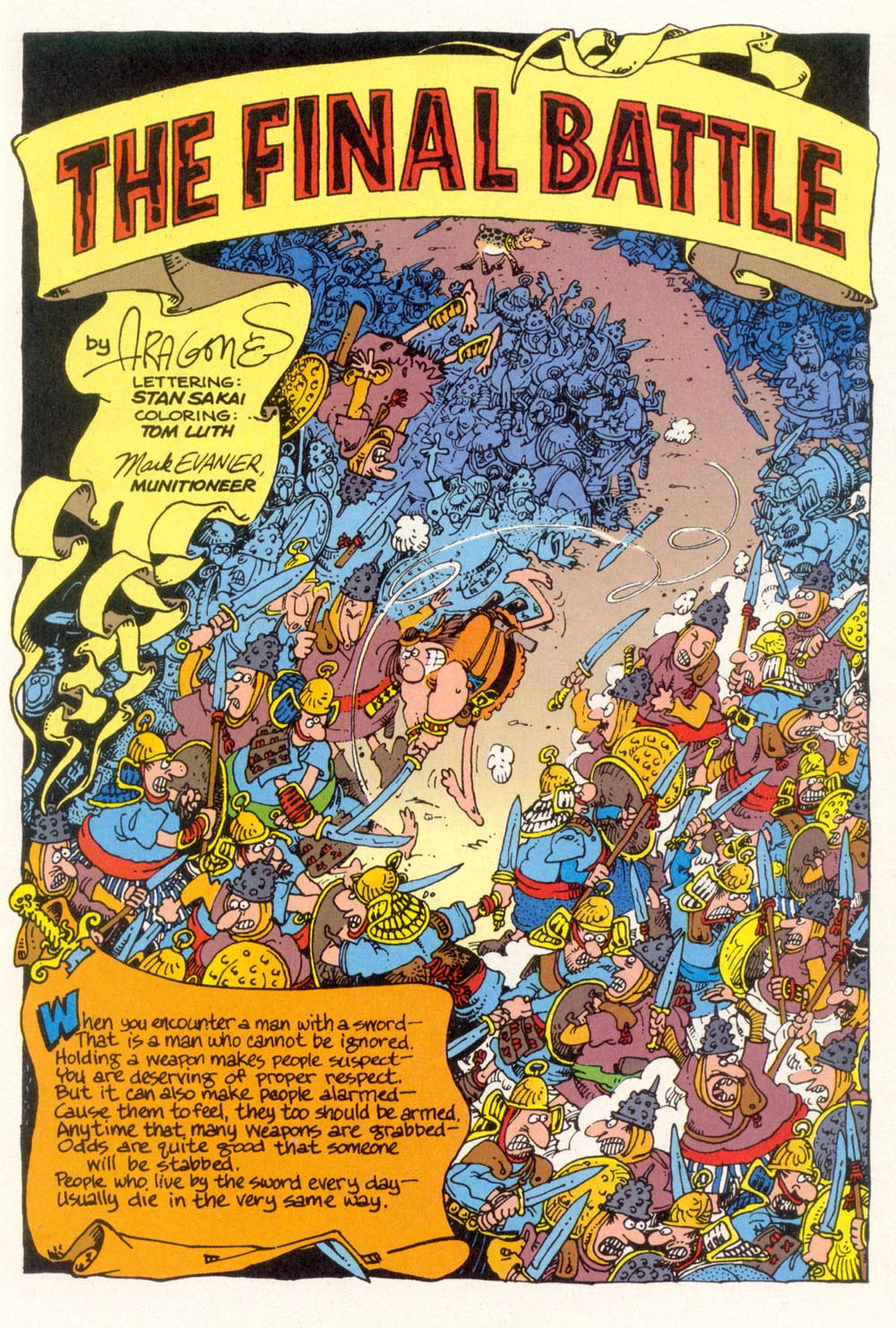 Read online Sergio Aragonés Groo the Wanderer comic -  Issue #120 - 3