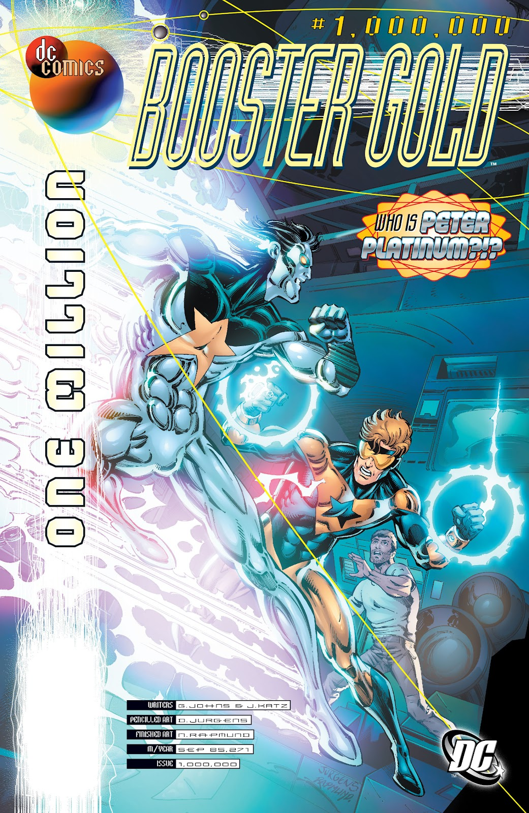 Booster Gold (2007) issue 48 - Page 1