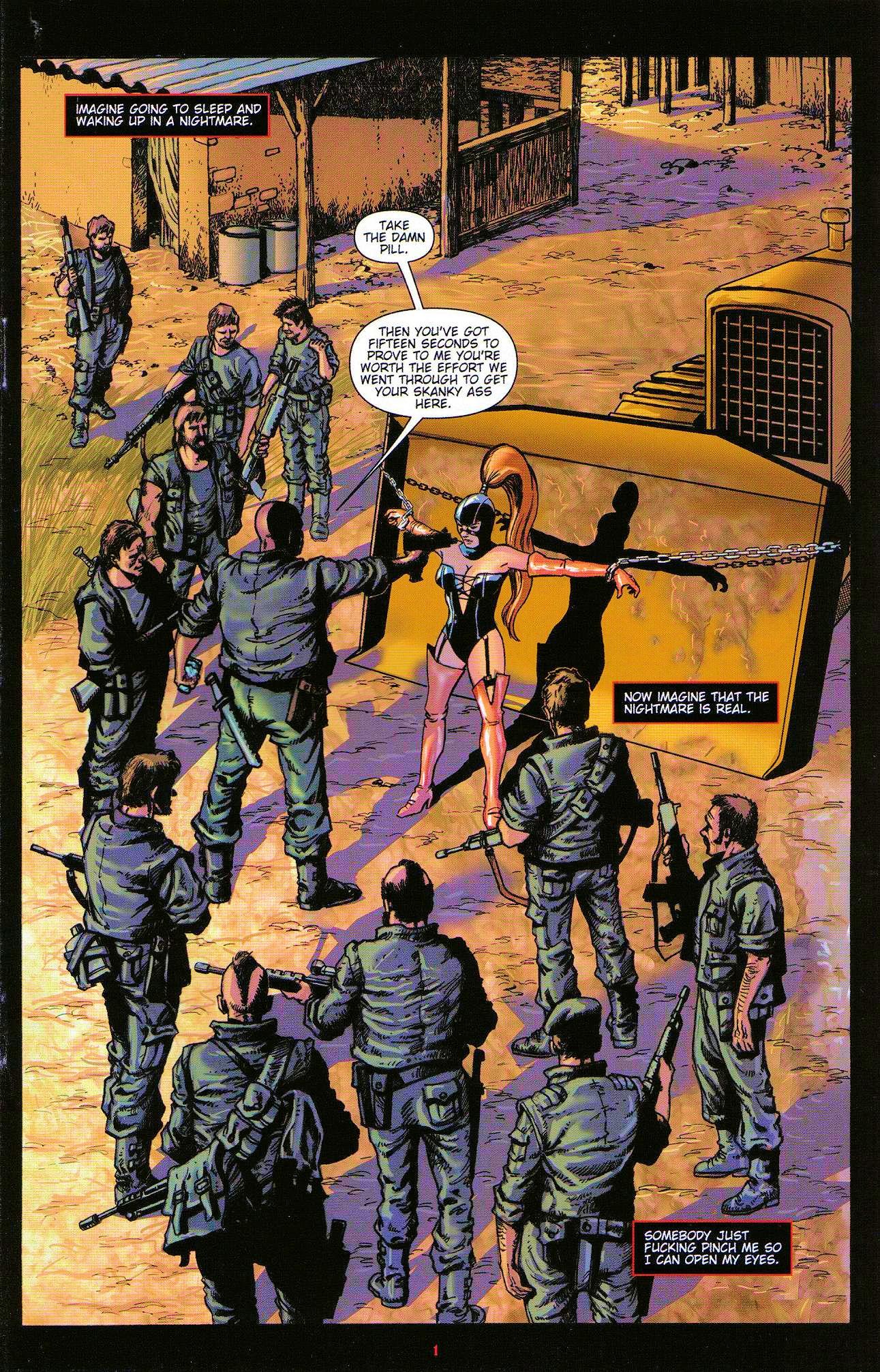 Read online Dominatrix comic -  Issue #3 - 3