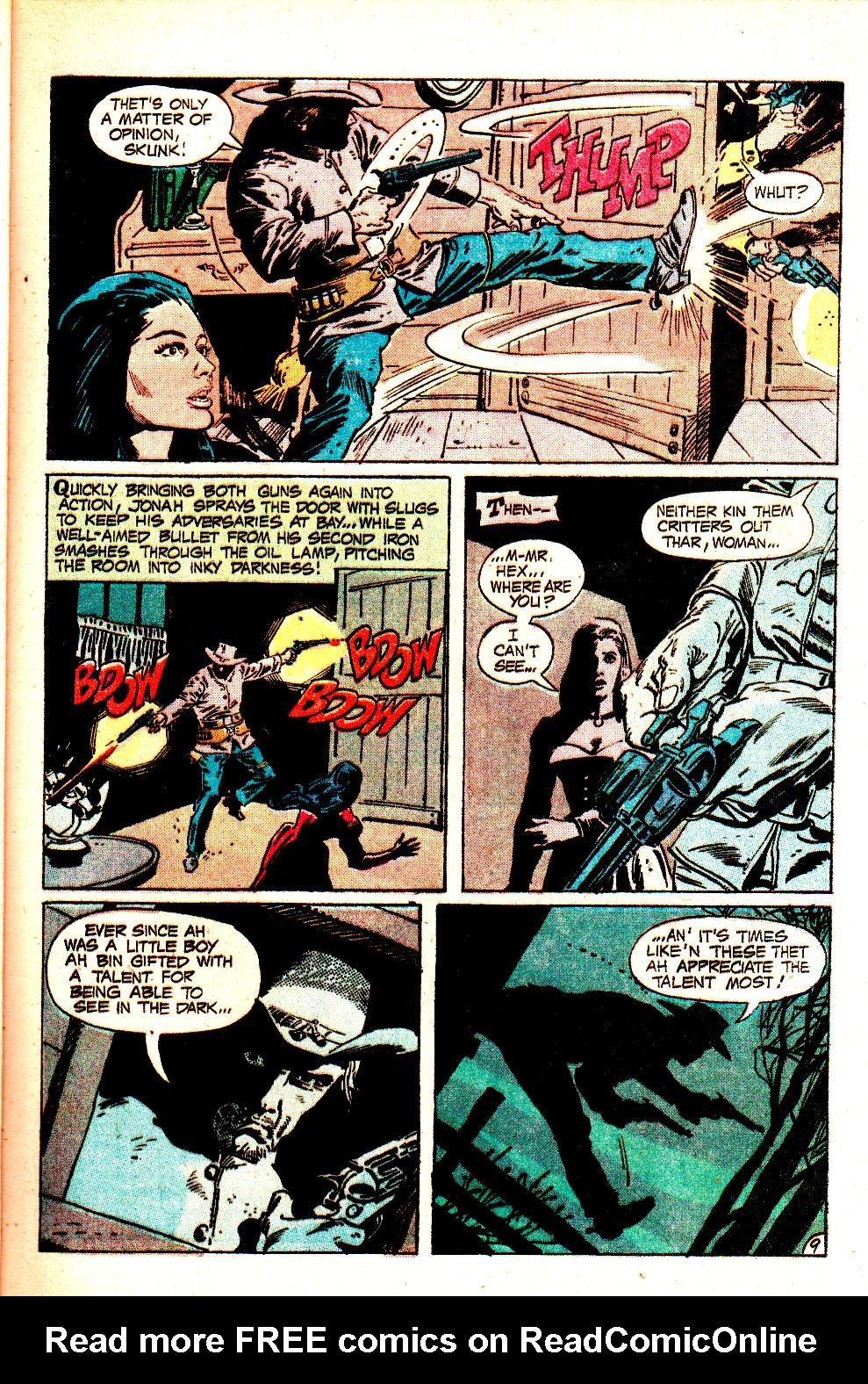 Read online All-Star Western (1970) comic -  Issue #11 - 13